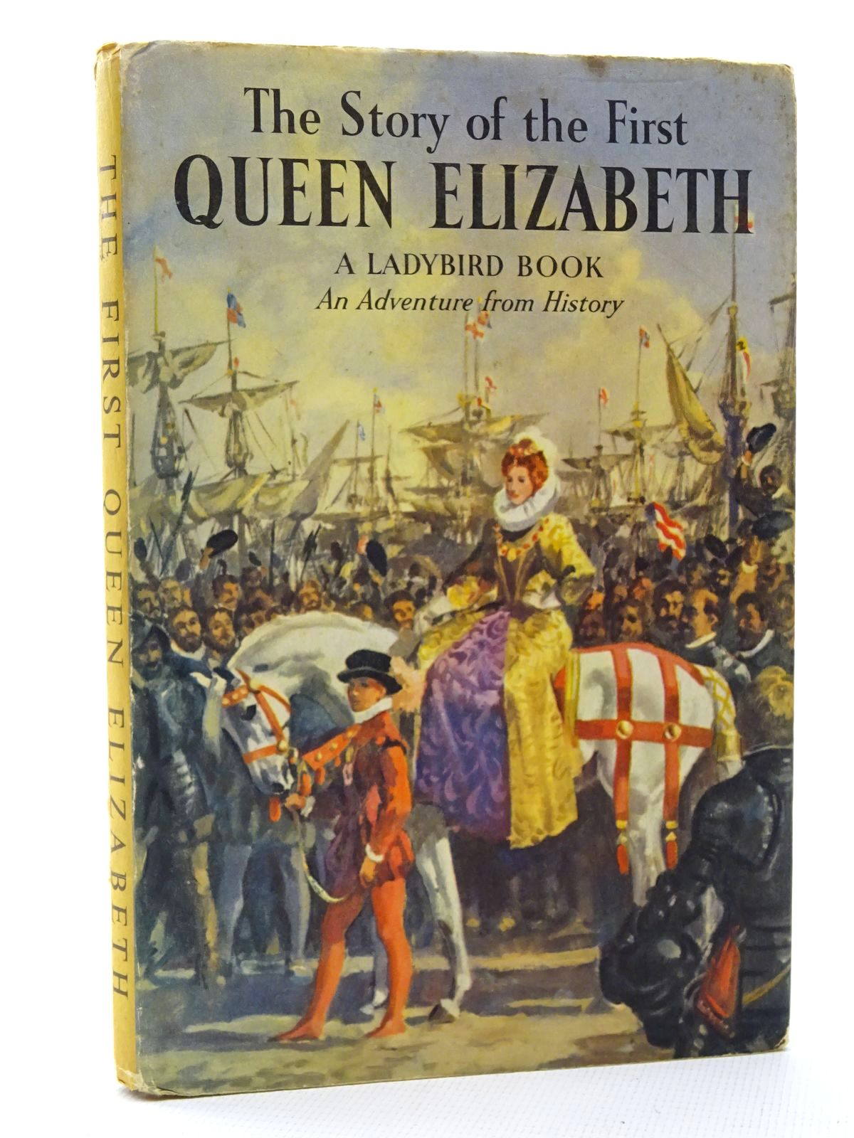 Photo of THE STORY OF THE FIRST QUEEN ELIZABETH written by Peach, L. Du Garde illustrated by Kenney, John published by Wills & Hepworth Ltd. (STOCK CODE: 2124235)  for sale by Stella & Rose's Books