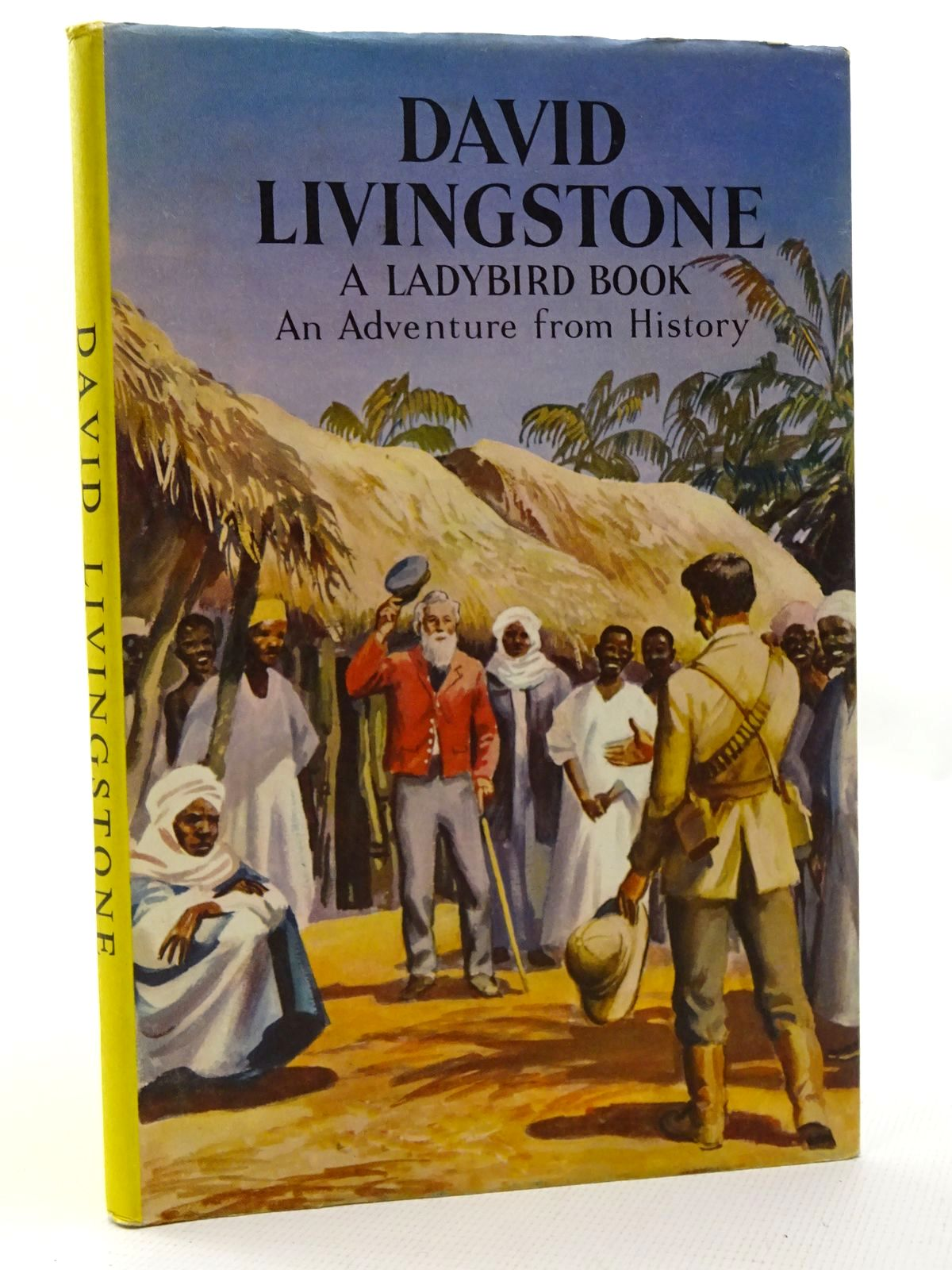 Photo of DAVID LIVINGSTONE written by Peach, L. Du Garde illustrated by Kenney, John published by Wills & Hepworth Ltd. (STOCK CODE: 2124236)  for sale by Stella & Rose's Books