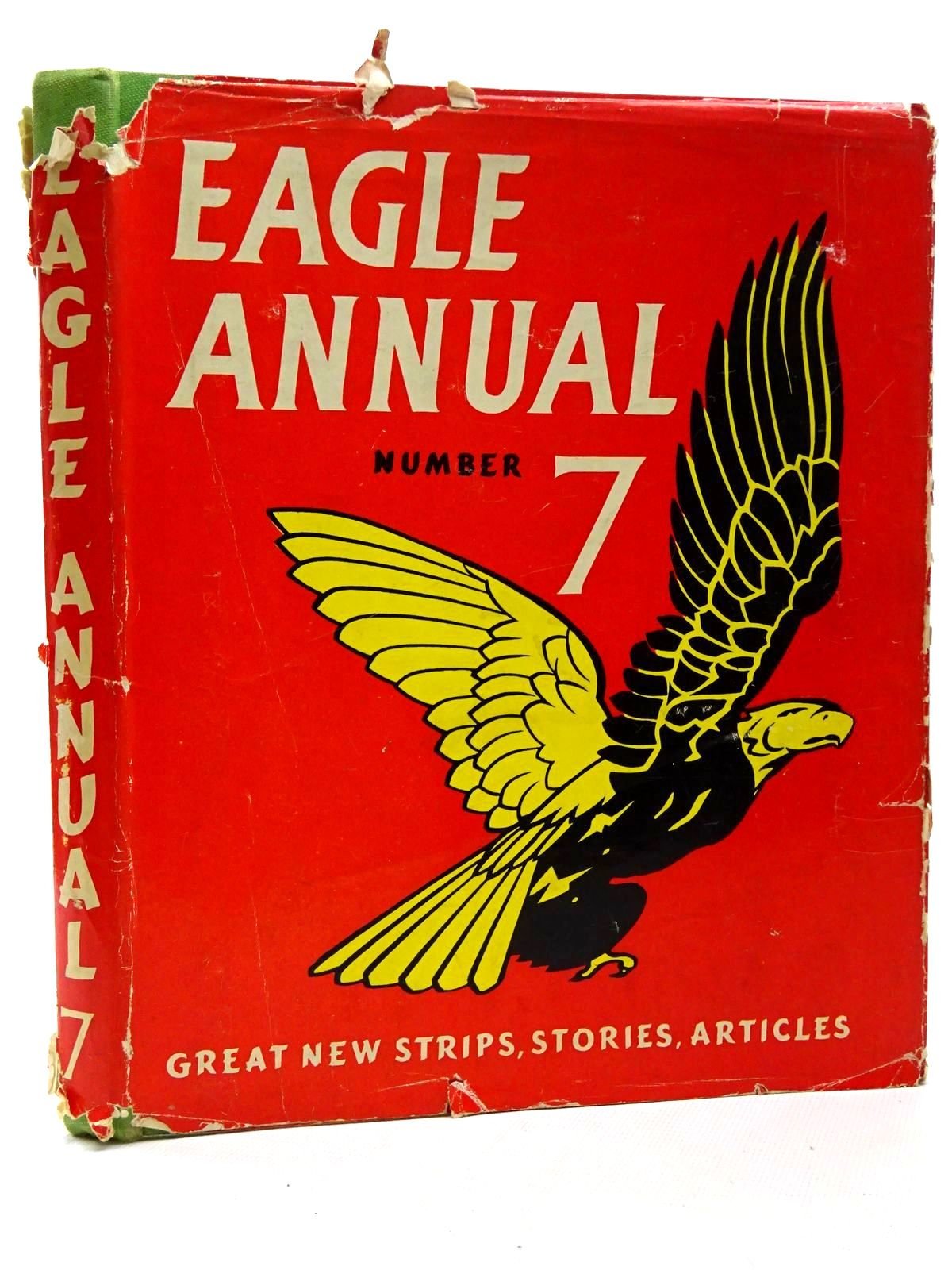 Photo of EAGLE ANNUAL No. 7 written by Morris, Marcus published by Hulton Press (STOCK CODE: 2124251)  for sale by Stella & Rose's Books