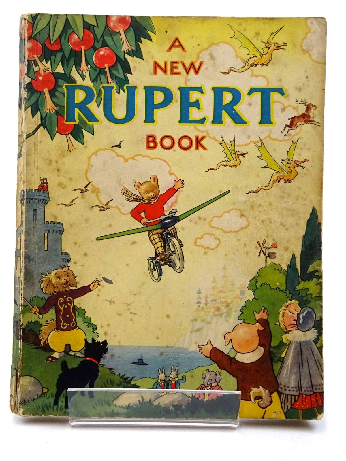 Photo of RUPERT ANNUAL 1945 - A NEW RUPERT BOOK written by Bestall, Alfred illustrated by Bestall, Alfred published by Daily Express (STOCK CODE: 2124268)  for sale by Stella & Rose's Books