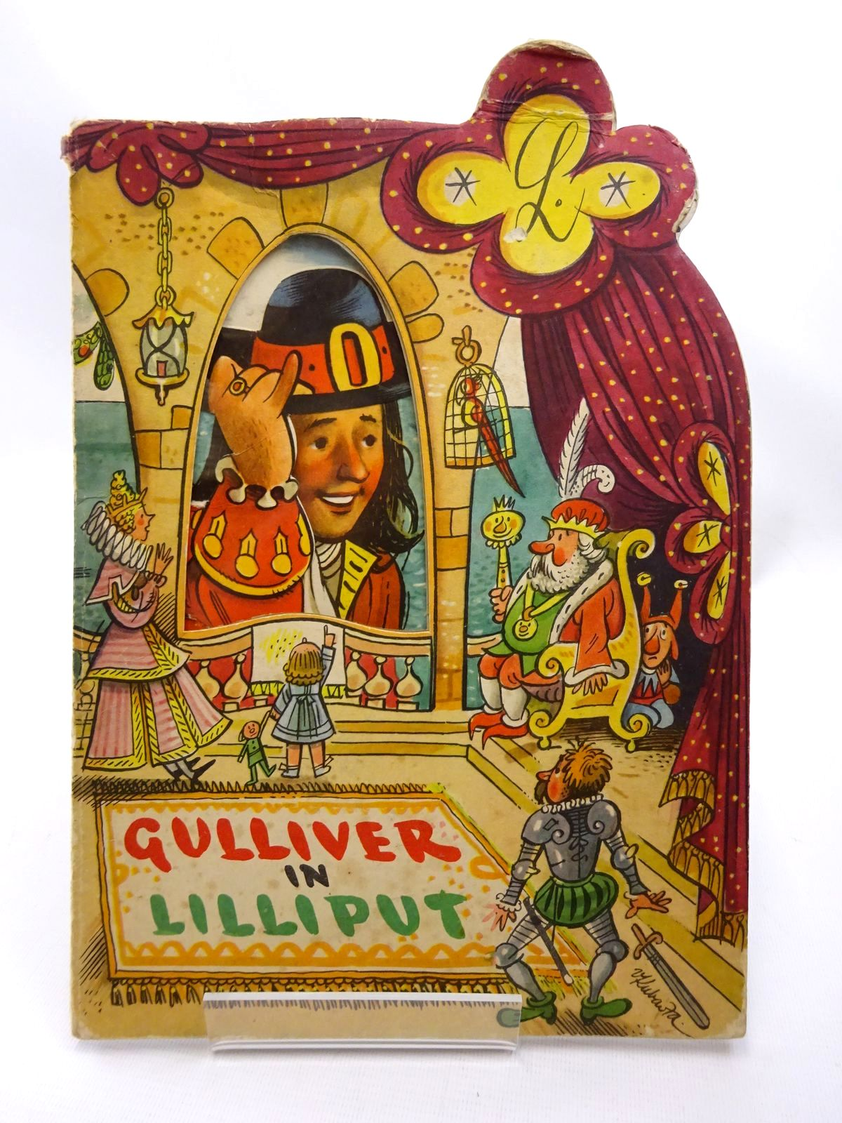 Photo of GULLIVER IN LILLIPUT illustrated by Kubasta, Vojtech published by Bancroft & Co.(Publishers) Ltd. (STOCK CODE: 2124281)  for sale by Stella & Rose's Books