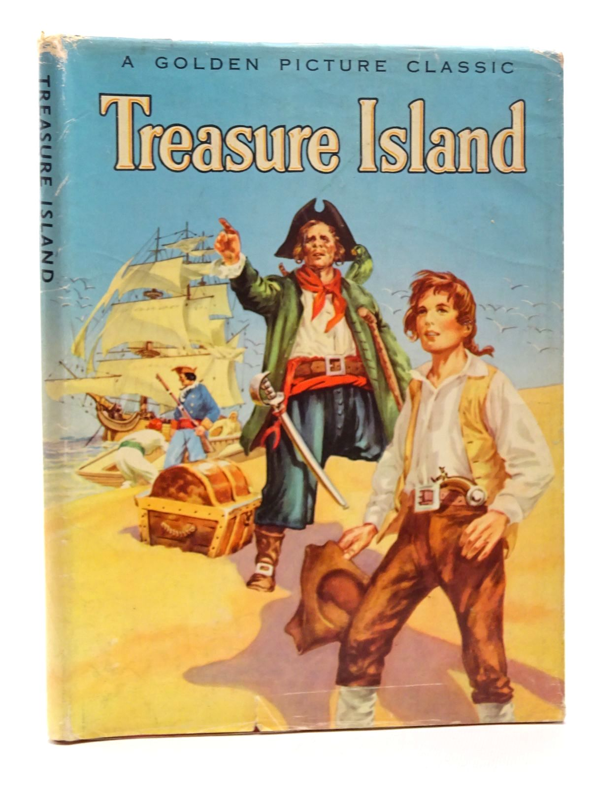 Photo of TREASURE ISLAND written by White, Anne Terry<br />Stevenson, Robert Louis illustrated by Greene, Hamilton published by Publicity Products Limited (STOCK CODE: 2124304)  for sale by Stella & Rose's Books