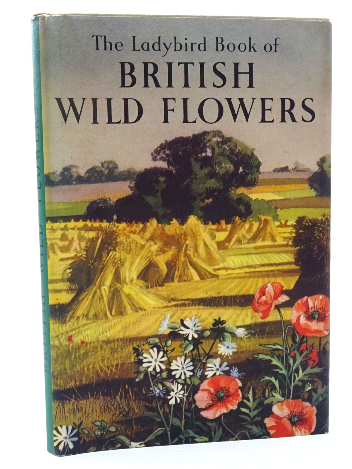 Photo of THE LADYBIRD BOOK OF BRITISH WILD FLOWERS written by Vesey-Fitzgerald, Brian illustrated by Hilder, Rowland<br />Hilder, Edith published by Wills & Hepworth Ltd. (STOCK CODE: 2124329)  for sale by Stella & Rose's Books