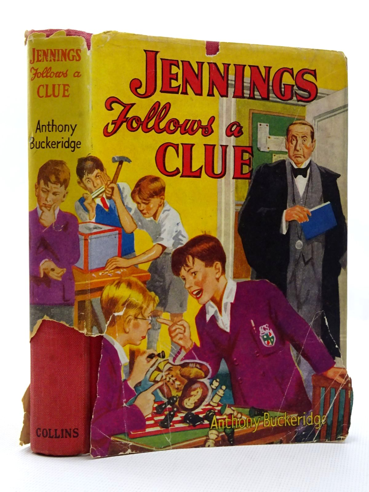 Photo of JENNINGS FOLLOWS A CLUE written by Buckeridge, Anthony published by Collins (STOCK CODE: 2124352)  for sale by Stella & Rose's Books