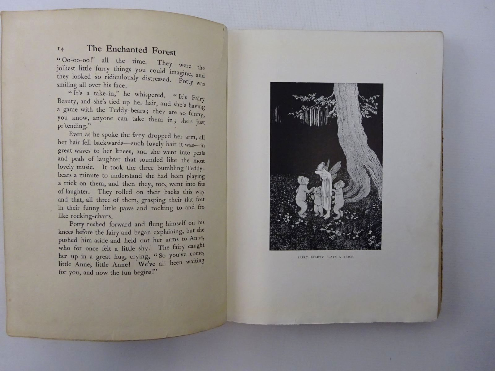 Photo of THE ENCHANTED FOREST written by Rentoul Outhwaite, Ida<br />Outhwaite, Grenbry illustrated by Outhwaite, Ida Rentoul published by A. & C. Black Ltd. (STOCK CODE: 2124401)  for sale by Stella & Rose's Books