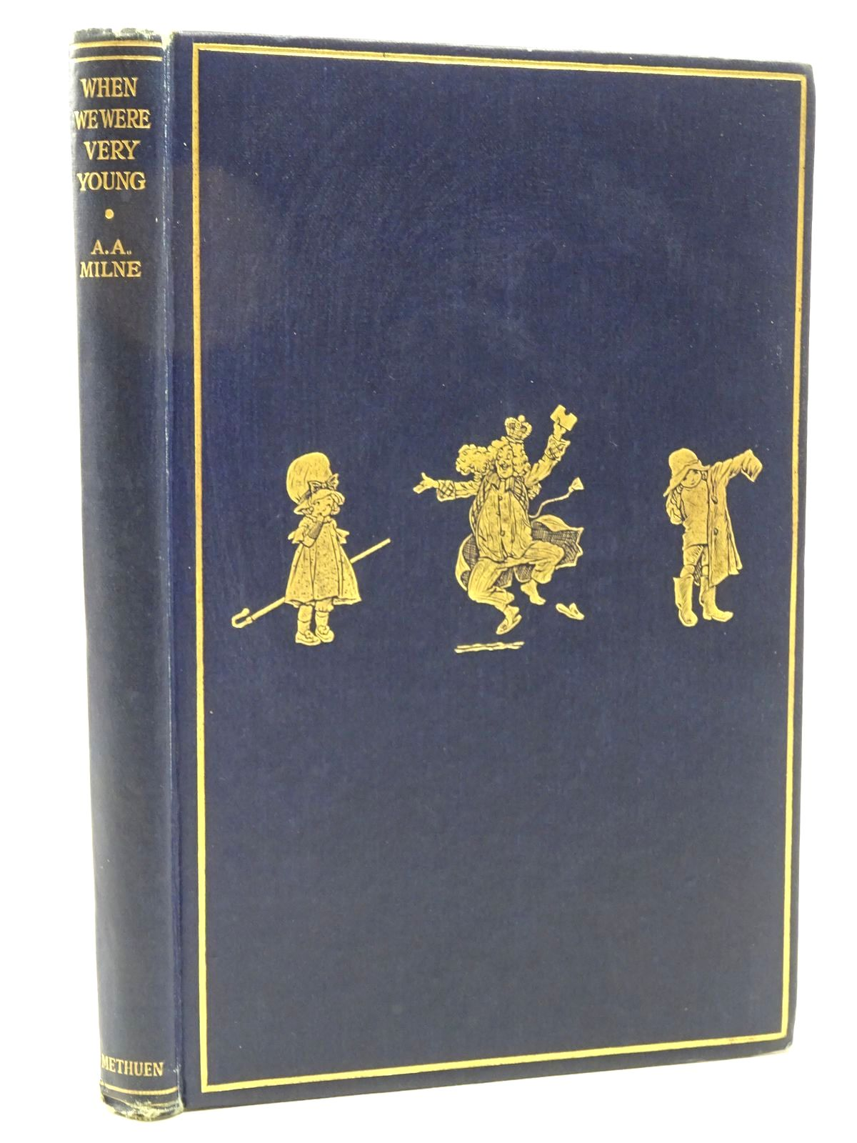 Photo of WHEN WE WERE VERY YOUNG written by Milne, A.A. illustrated by Shepard, E.H. published by Methuen & Co. Ltd. (STOCK CODE: 2124410)  for sale by Stella & Rose's Books