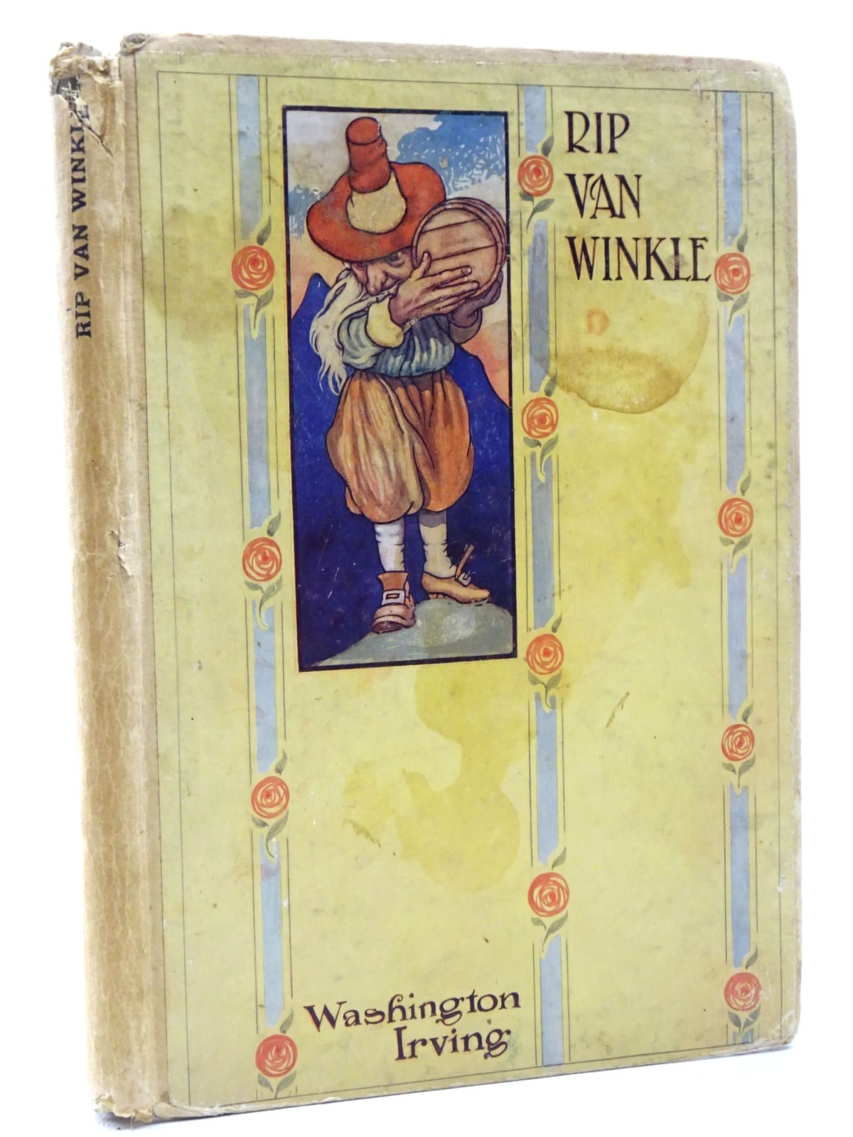 Photo of RIP VAN WINKLE written by Irving, Washington illustrated by Robinson, Charles published by T.C. & E.C. Jack (STOCK CODE: 2124414)  for sale by Stella & Rose's Books