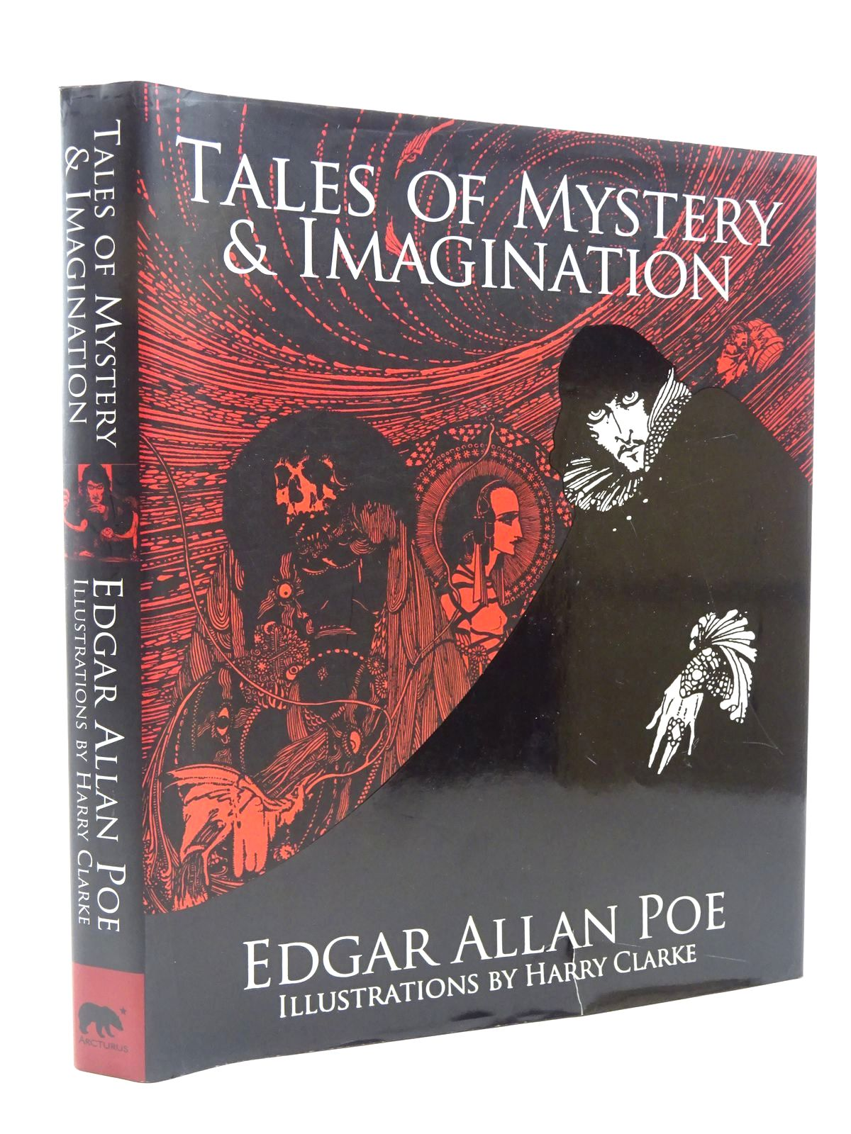 Photo of TALES OF MYSTERY AND IMAGINATION written by Poe, Edgar Allan illustrated by Clarke, Harry published by Arcturus Publishing Ltd. (STOCK CODE: 2124420)  for sale by Stella & Rose's Books