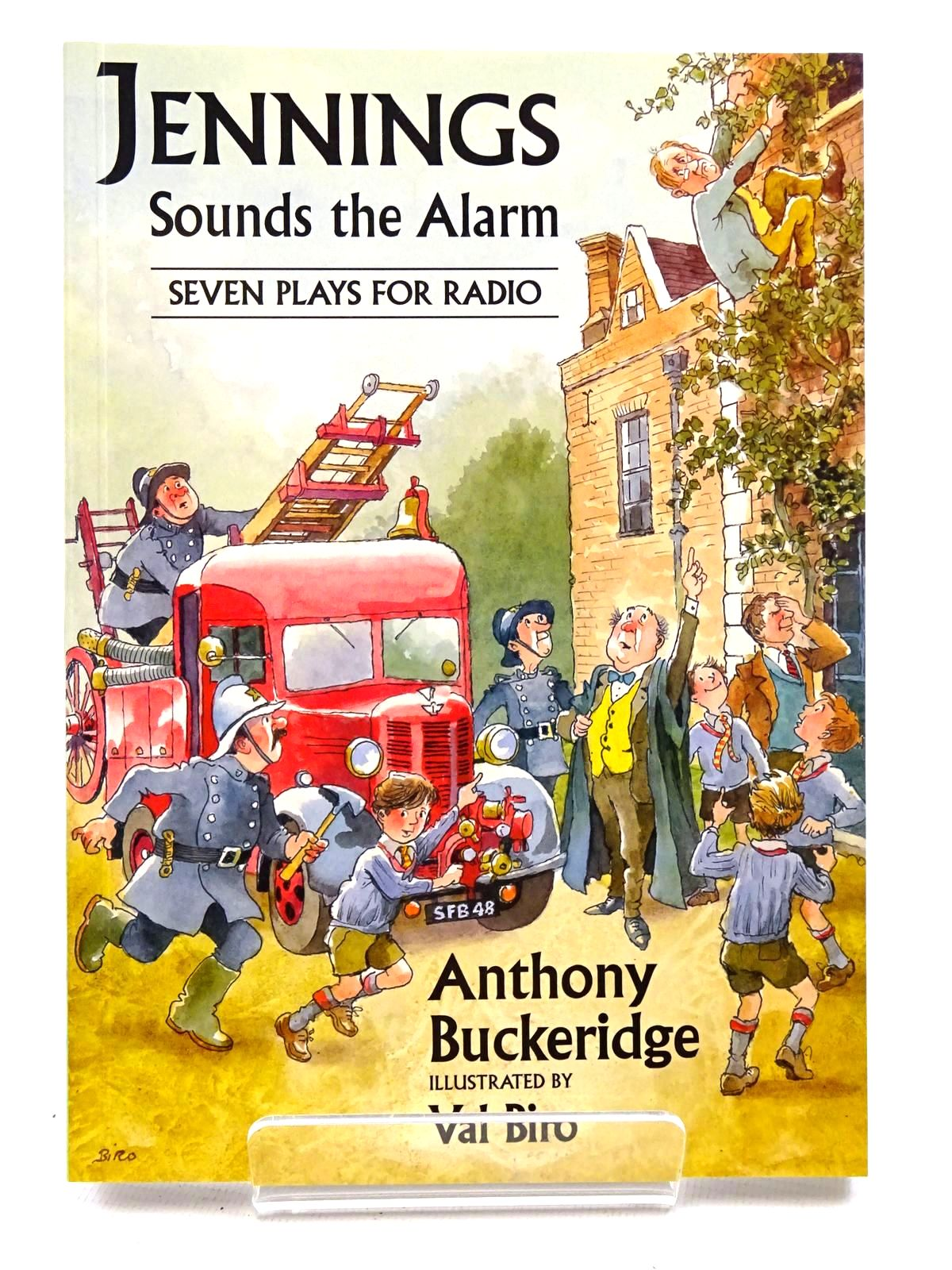 Photo of JENNINGS SOUNDS THE ALARM written by Buckeridge, Anthony illustrated by Biro, Val published by David Schutte (STOCK CODE: 2124426)  for sale by Stella & Rose's Books