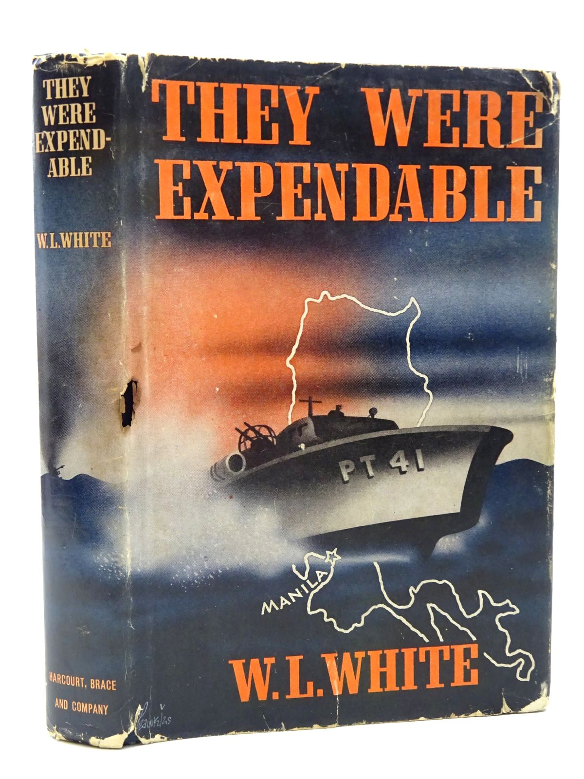 Photo of THEY WERE EXPENDABLE written by White, W.L. published by Harcourt, Brace & Company (STOCK CODE: 2124443)  for sale by Stella & Rose's Books