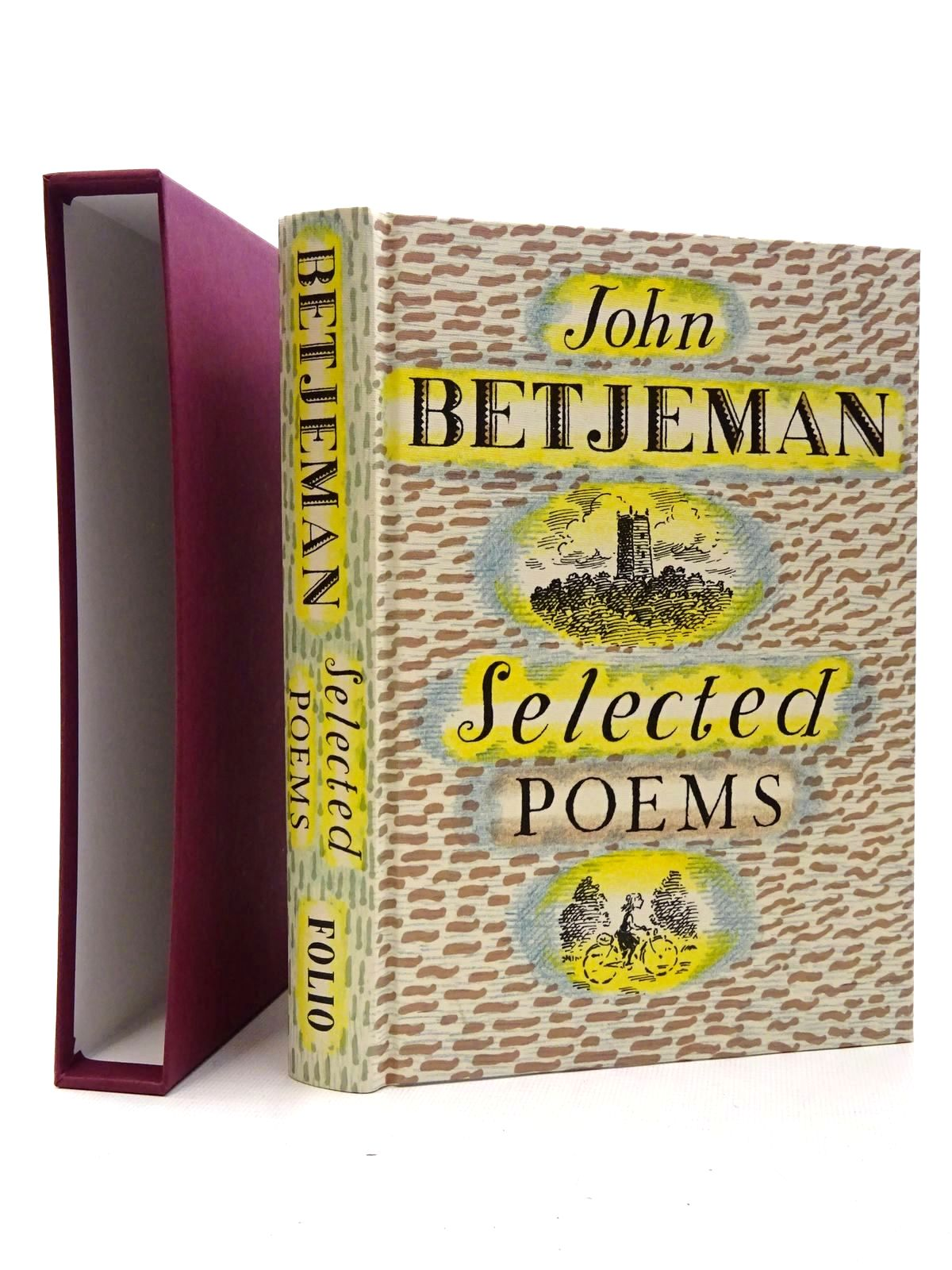Photo of JOHN BETJEMAN SELECTED POEMS written by Betjeman, John<br />Powers, Alan illustrated by Bailey, Peter published by Folio Society (STOCK CODE: 2124470)  for sale by Stella & Rose's Books