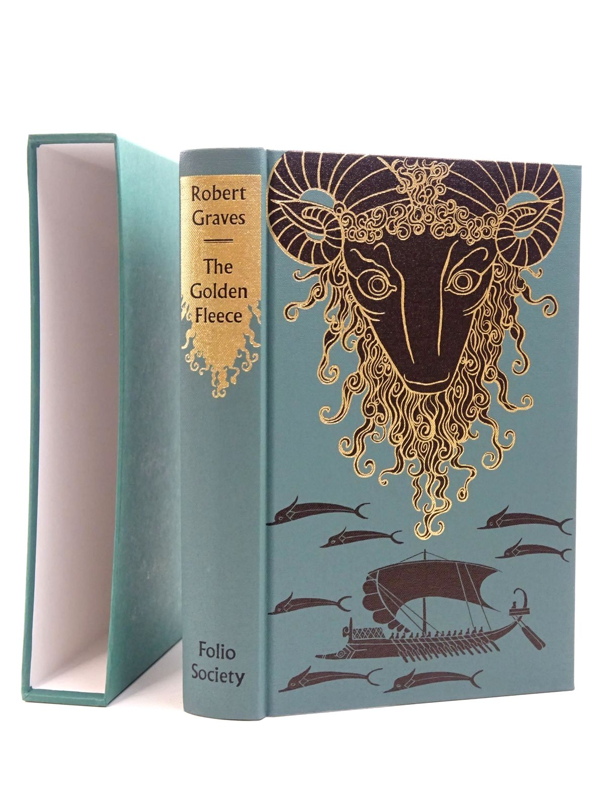 Photo of THE GOLDEN FLEECE written by Graves, Robert illustrated by Baker, Grahame published by Folio Society (STOCK CODE: 2124476)  for sale by Stella & Rose's Books