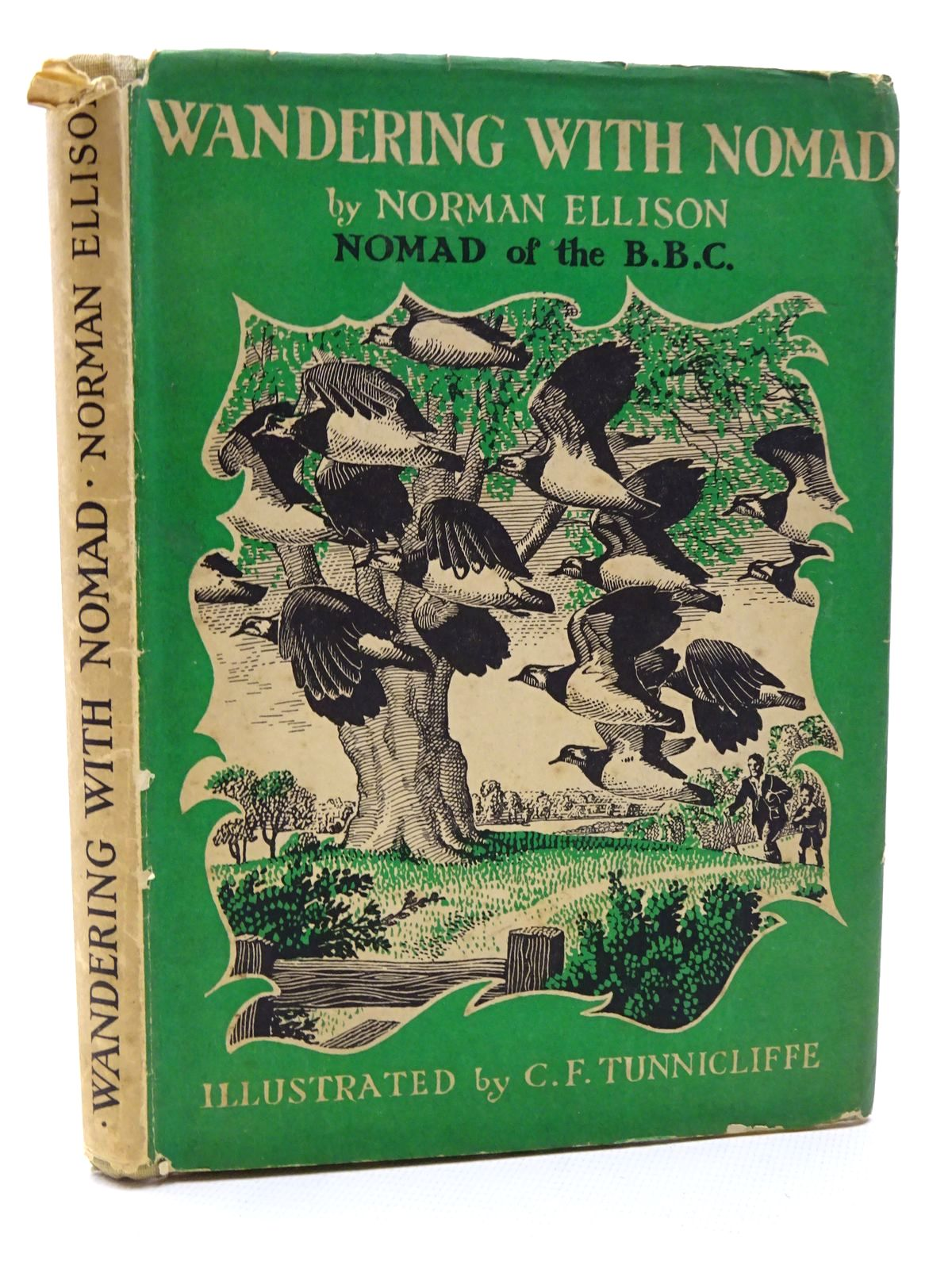 Photo of WANDERING WITH NOMAD written by Ellison, Norman illustrated by Tunnicliffe, C.F. published by University of London Press (STOCK CODE: 2124492)  for sale by Stella & Rose's Books