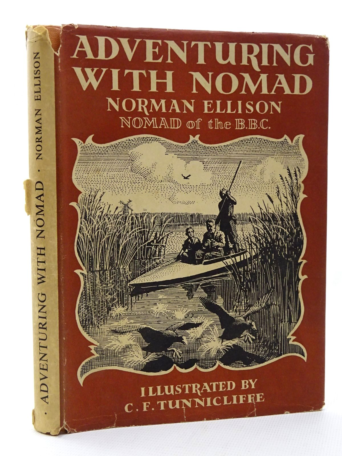 Photo of ADVENTURING WITH NOMAD written by Ellison, Norman illustrated by Tunnicliffe, C.F. published by University of London Press Ltd. (STOCK CODE: 2124493)  for sale by Stella & Rose's Books