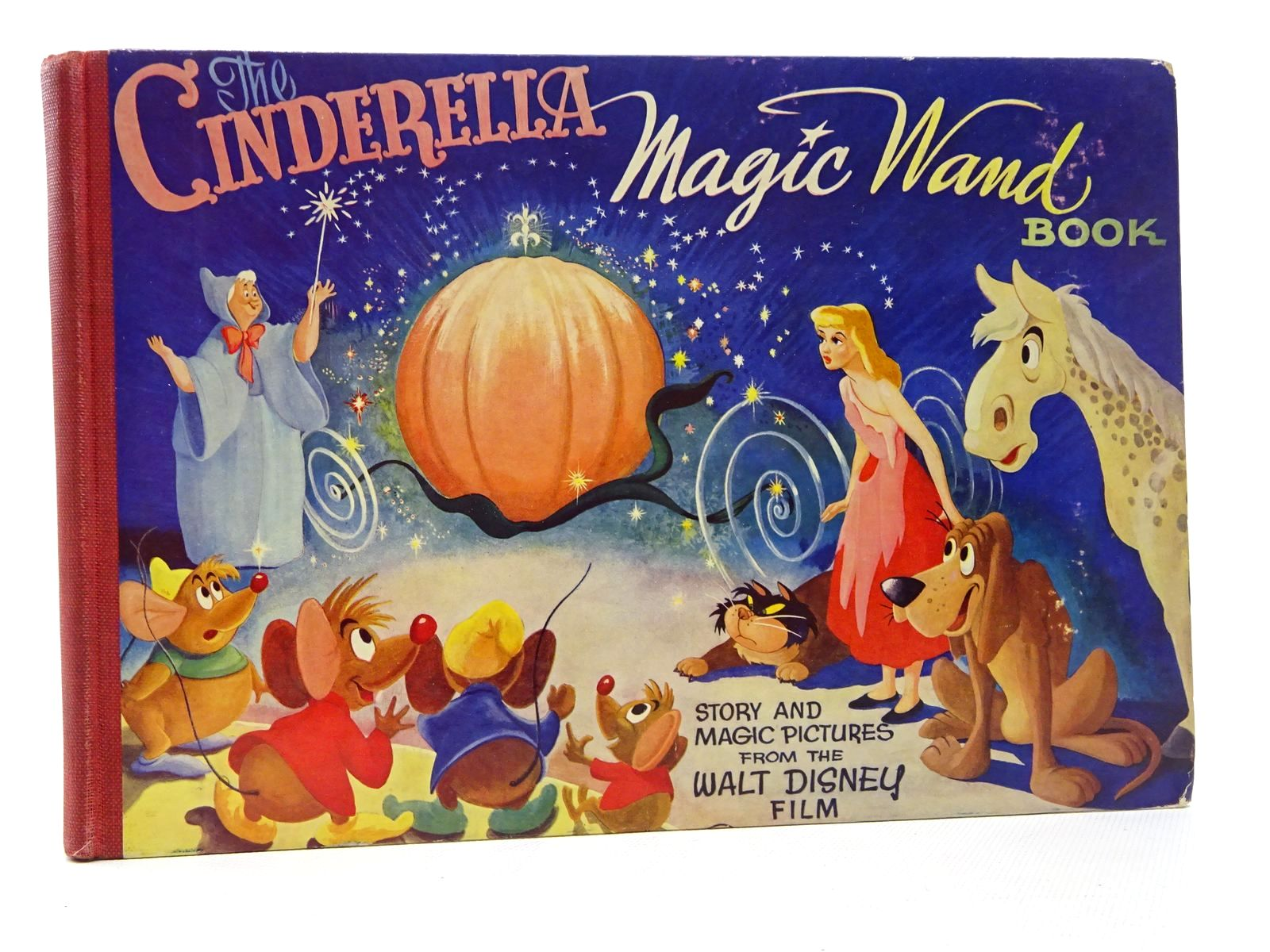 Photo of THE CINDERELLA MAGIC WAND BOOK written by Disney, Walt illustrated by Disney, Walt published by Dean & Son Ltd. (STOCK CODE: 2124504)  for sale by Stella & Rose's Books