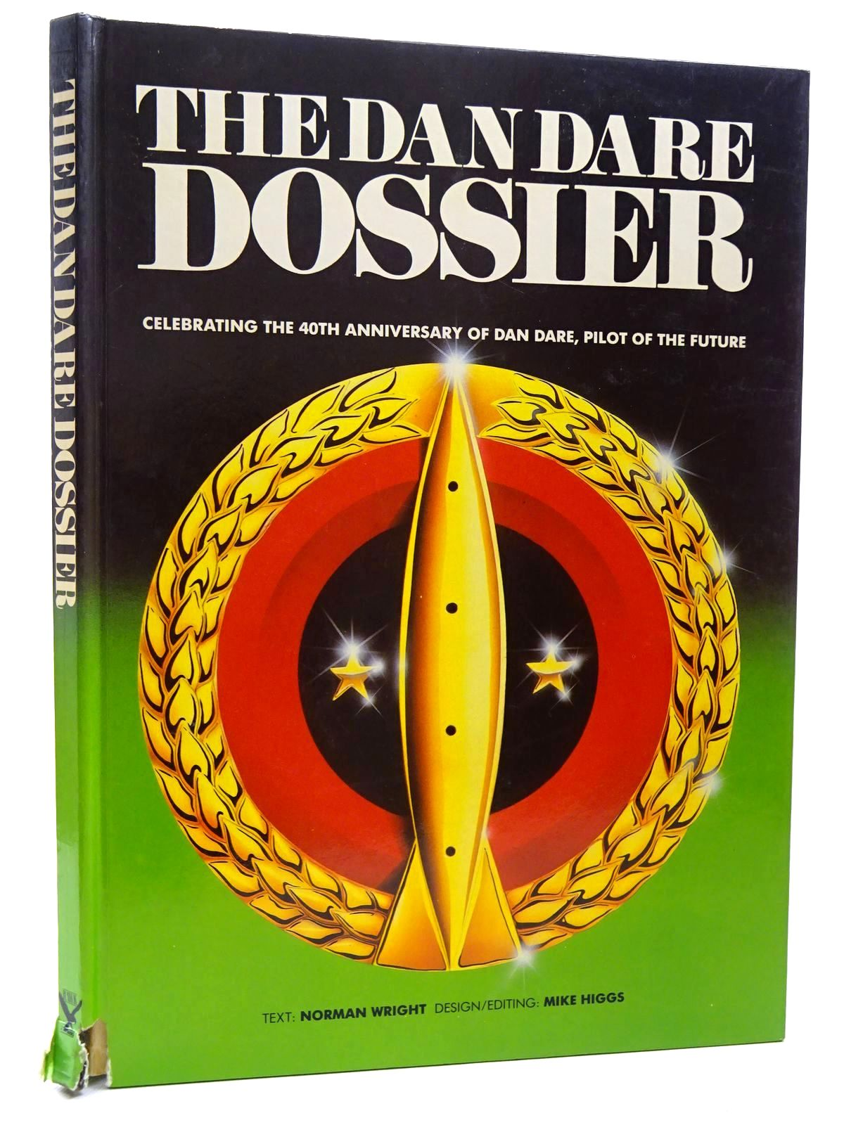 Photo of THE DAN DARE DOSSIER written by Wright, Norman published by Hawk Books Ltd. (STOCK CODE: 2124550)  for sale by Stella & Rose's Books