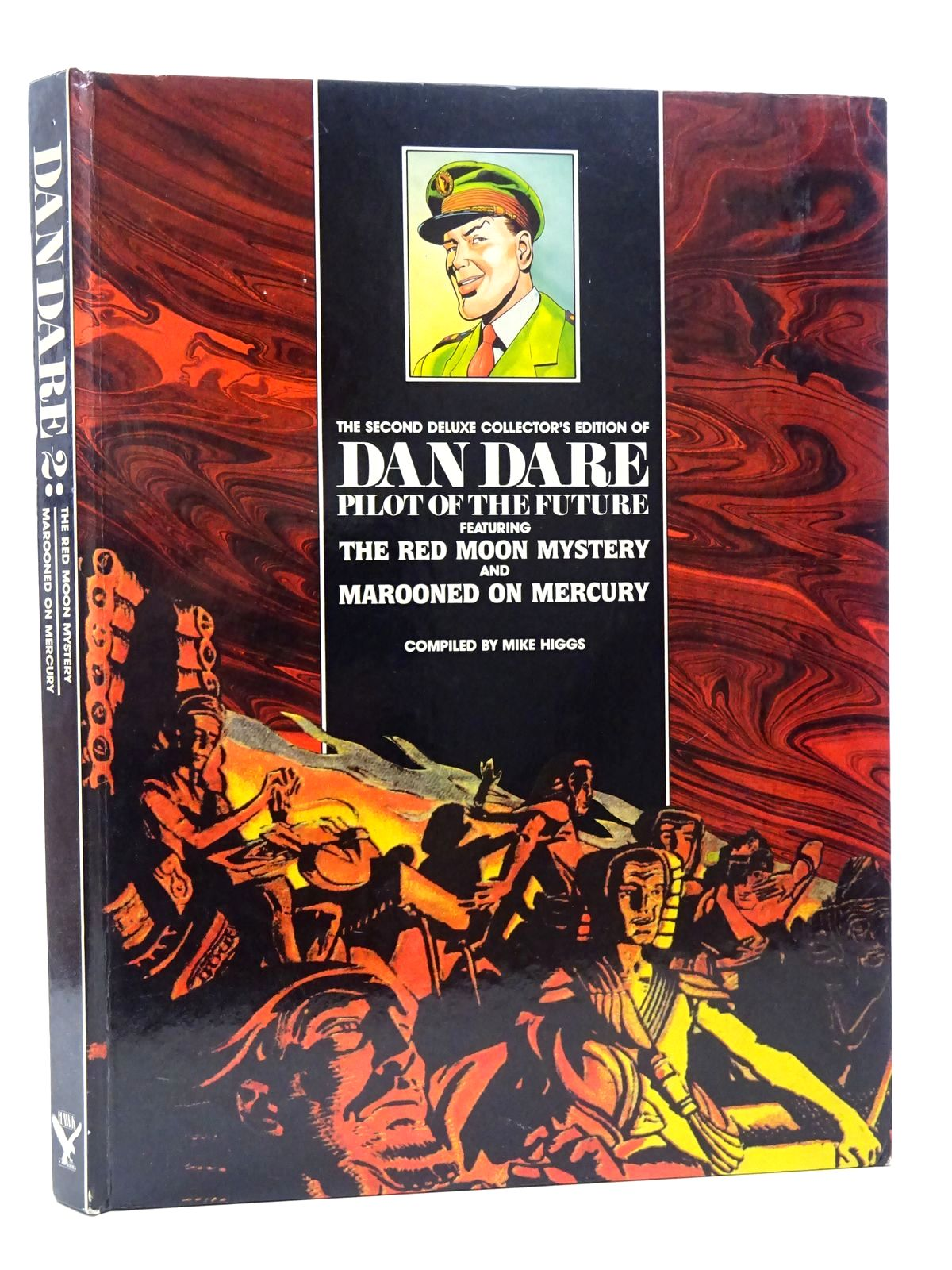 Photo of THE SECOND DELUXE COLLECTOR'S EDITION OF DAN DARE PILOT OF THE FUTURE written by Higgs, Mike published by Hawk Books Limited (STOCK CODE: 2124551)  for sale by Stella & Rose's Books