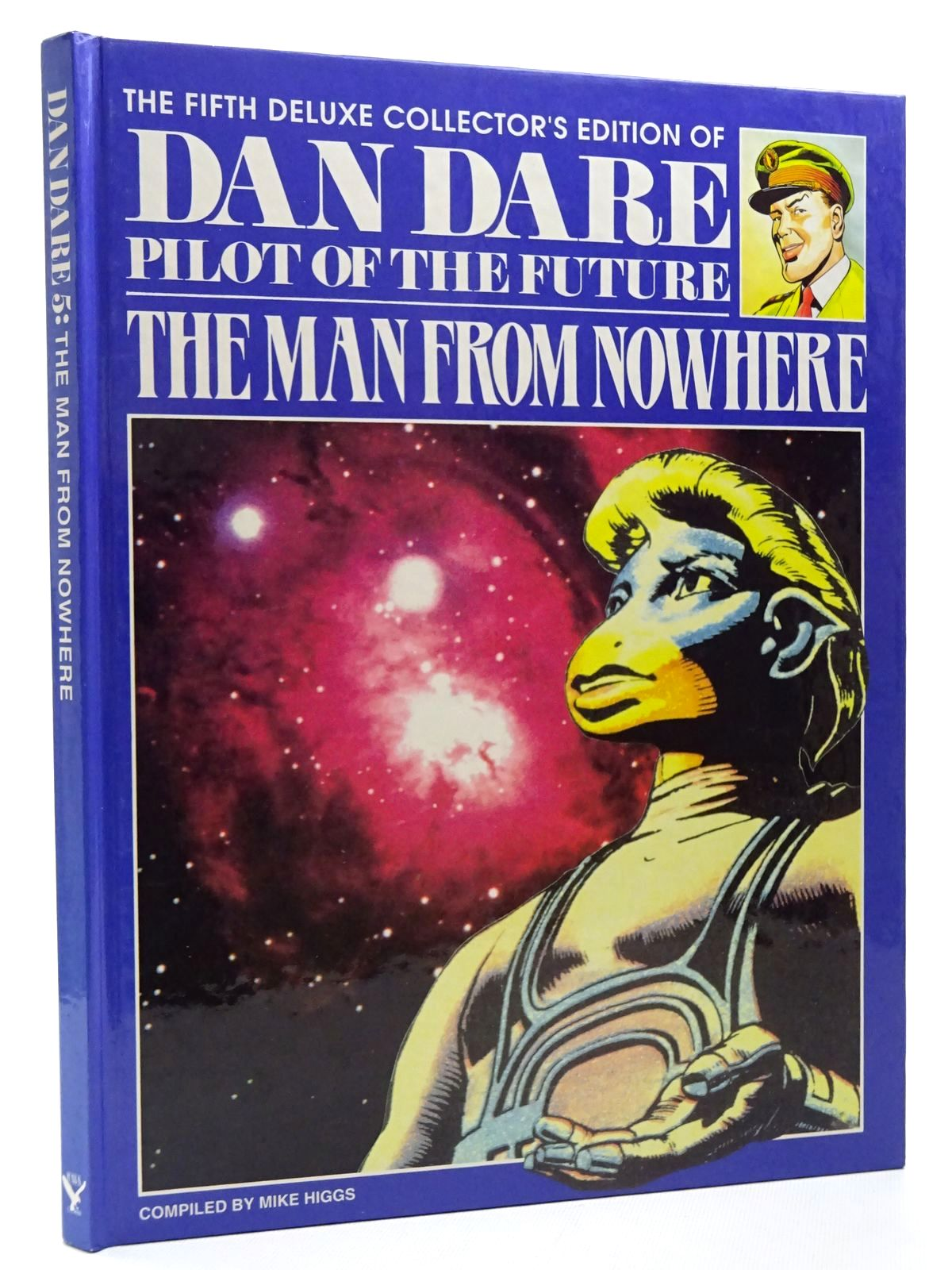 Photo of THE FIFTH DELUXE COLLECTOR'S EDITION OF DAN DARE PILOT OF THE FUTURE THE MAN FROM NOWHERE written by Higgs, Mike published by Hawk Books (STOCK CODE: 2124552)  for sale by Stella & Rose's Books