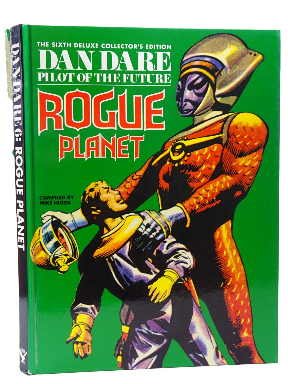 Photo of THE SIXTH DELUXE COLLECTOR'S EDITION OF DAN DARE PILOT OF THE FUTURE ROGUE PLANET written by Higgs, Mike published by Hawk Books (STOCK CODE: 2124555)  for sale by Stella & Rose's Books