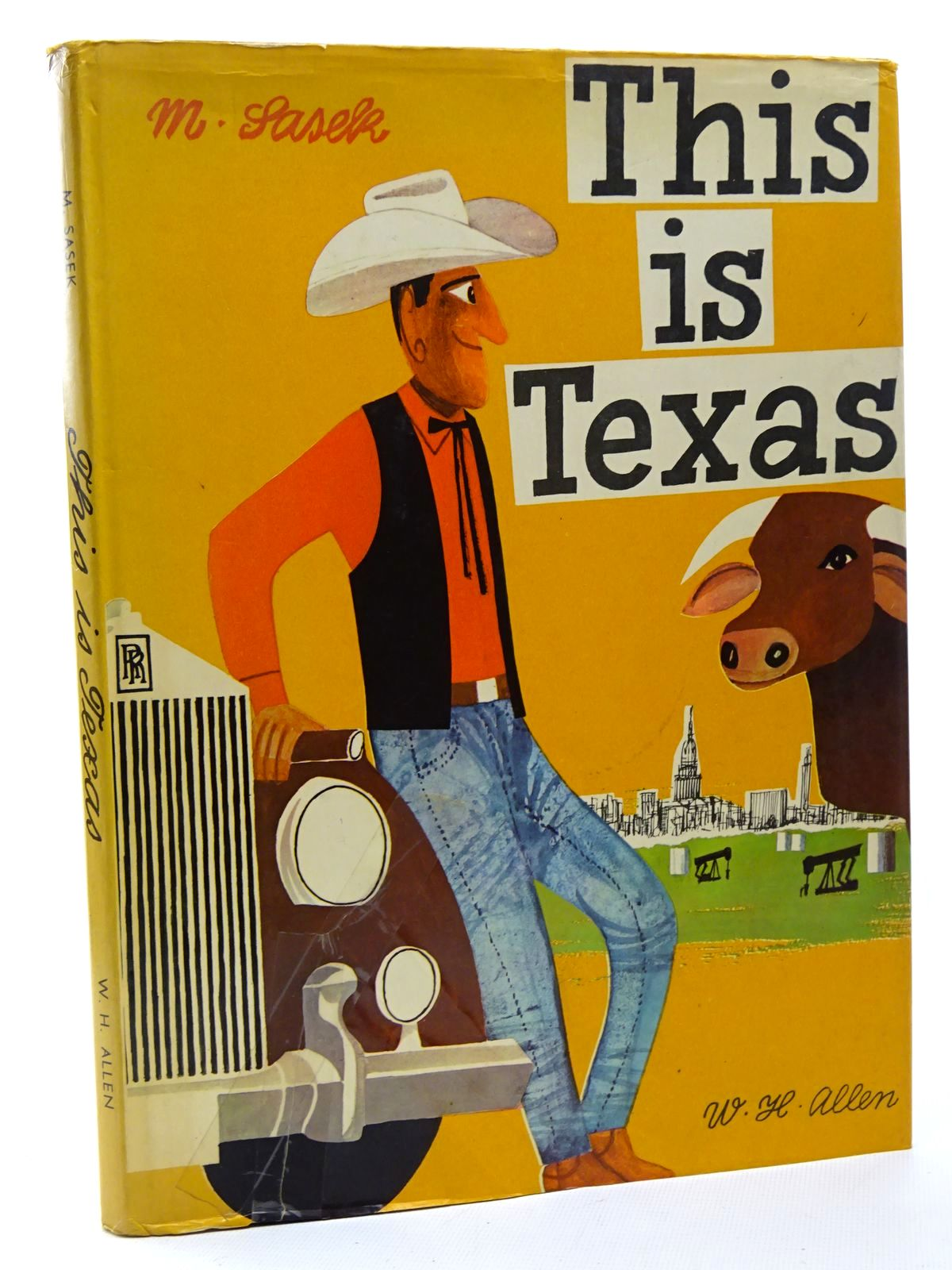 Photo of THIS IS TEXAS written by Sasek, Miroslav published by W.H. Allen (STOCK CODE: 2124575)  for sale by Stella & Rose's Books