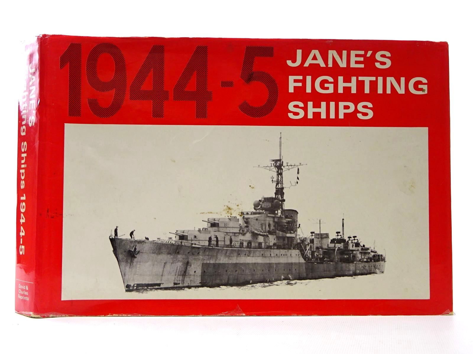 Photo of JANE'S FIGHTING SHIPS 1944-5 written by Jane, Fred T.<br />McMurtrie, Francis E. published by David & Charles (STOCK CODE: 2124608)  for sale by Stella & Rose's Books
