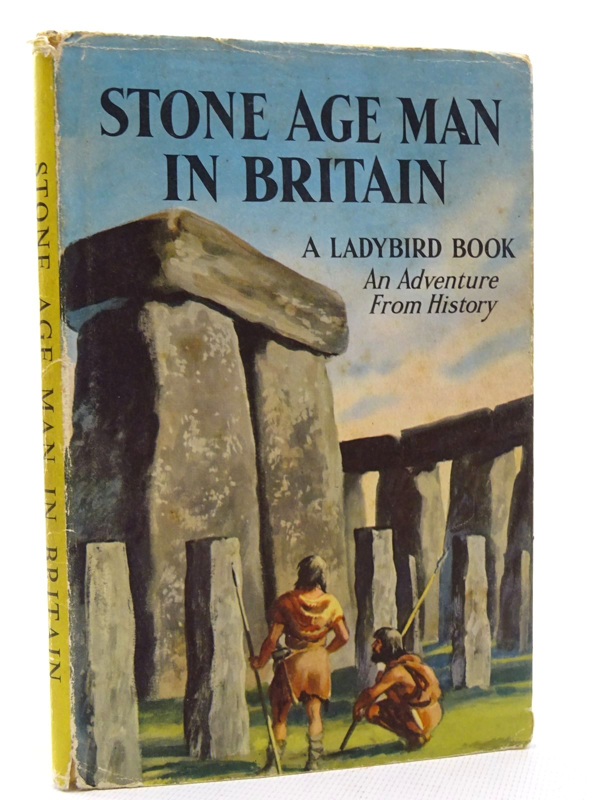 Photo of STONE AGE MAN IN BRITAIN written by Peach, L. Du Garde illustrated by Kenney, John published by Wills & Hepworth Ltd. (STOCK CODE: 2124651)  for sale by Stella & Rose's Books