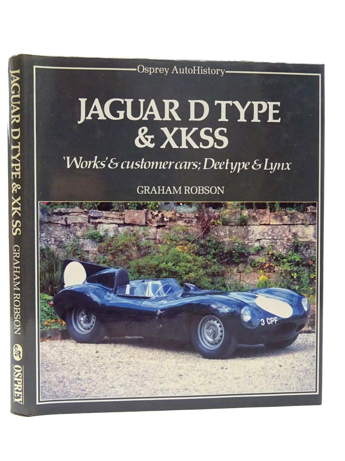 Photo of JAGUAR D TYPE & XKSS written by Robson, Graham published by Osprey Publishing (STOCK CODE: 2124720)  for sale by Stella & Rose's Books