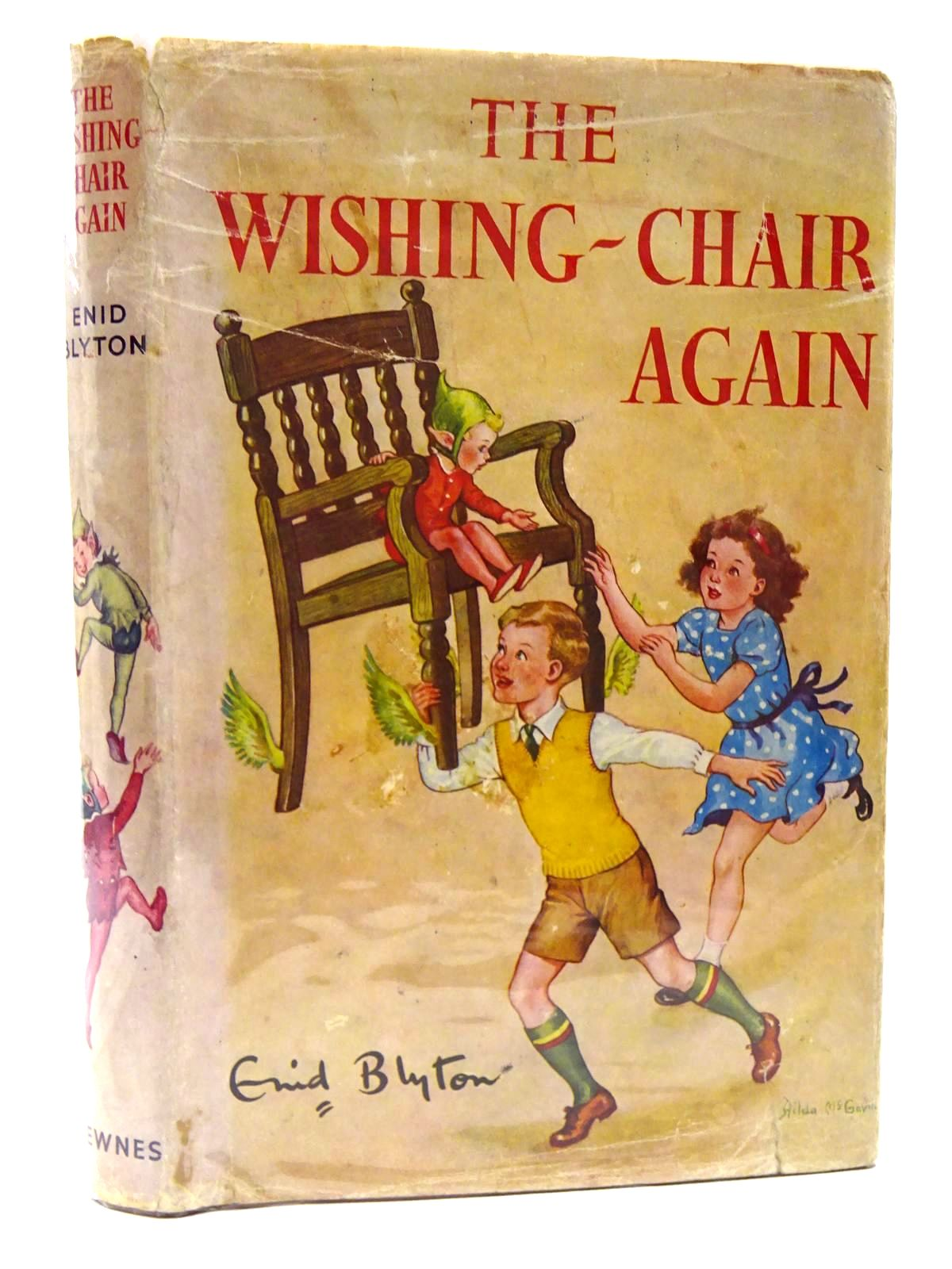 Photo of THE WISHING-CHAIR AGAIN written by Blyton, Enid illustrated by McGavin, Hilda published by George Newnes Ltd. (STOCK CODE: 2124725)  for sale by Stella & Rose's Books