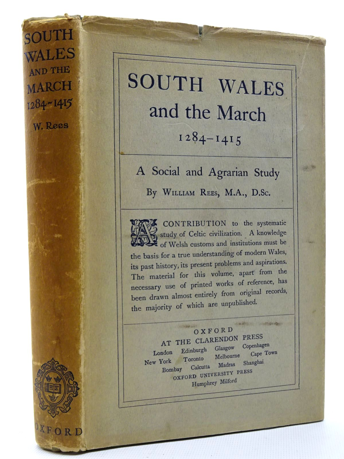 Photo of SOUTH WALES AND THE MARCH 1284-1415 written by Rees, William published by Oxford University Press (STOCK CODE: 2124804)  for sale by Stella & Rose's Books