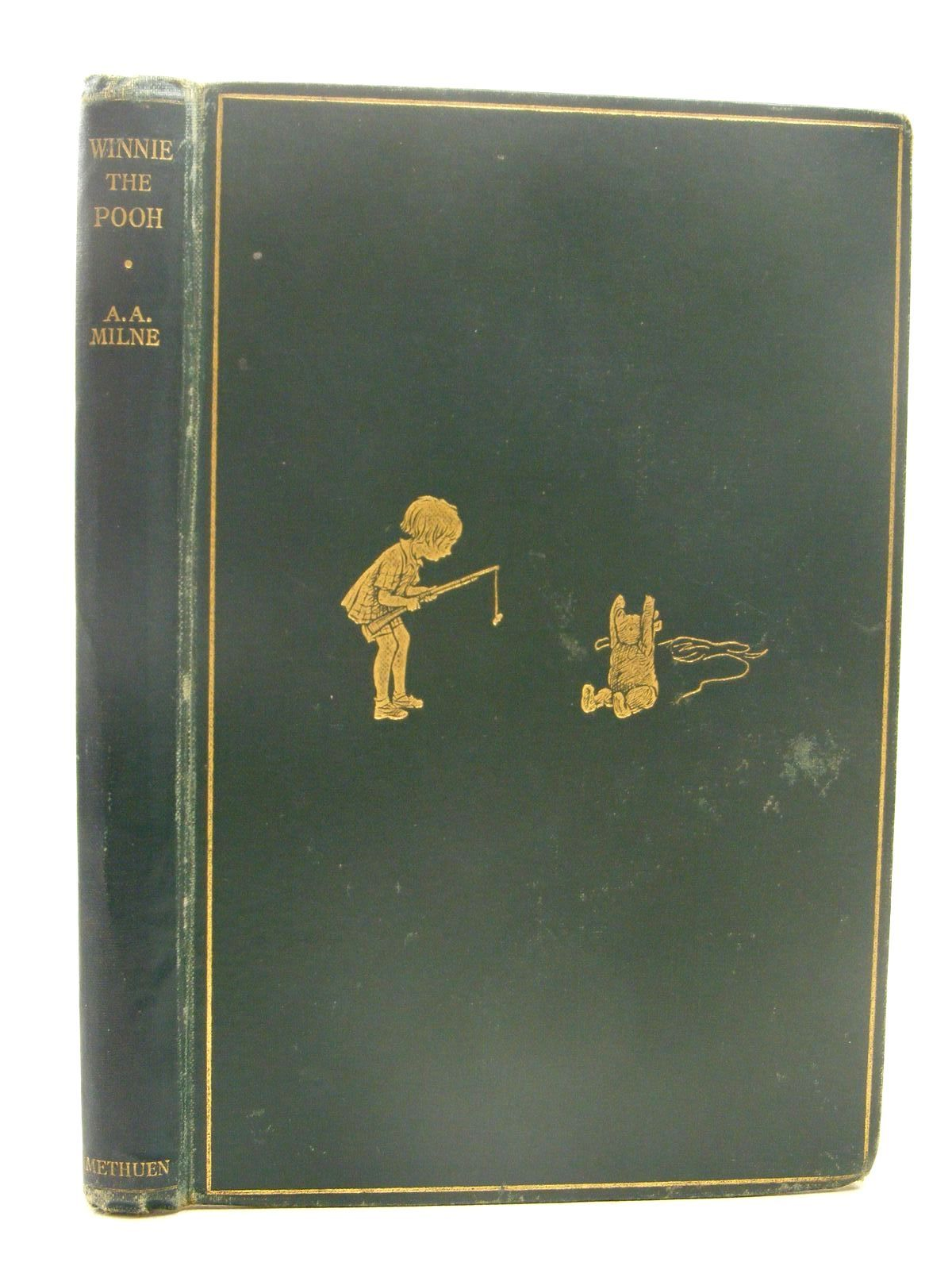 Photo of WINNIE-THE-POOH written by Milne, A.A. illustrated by Shepard, E.H. published by Methuen & Co. Ltd. (STOCK CODE: 2124836)  for sale by Stella & Rose's Books