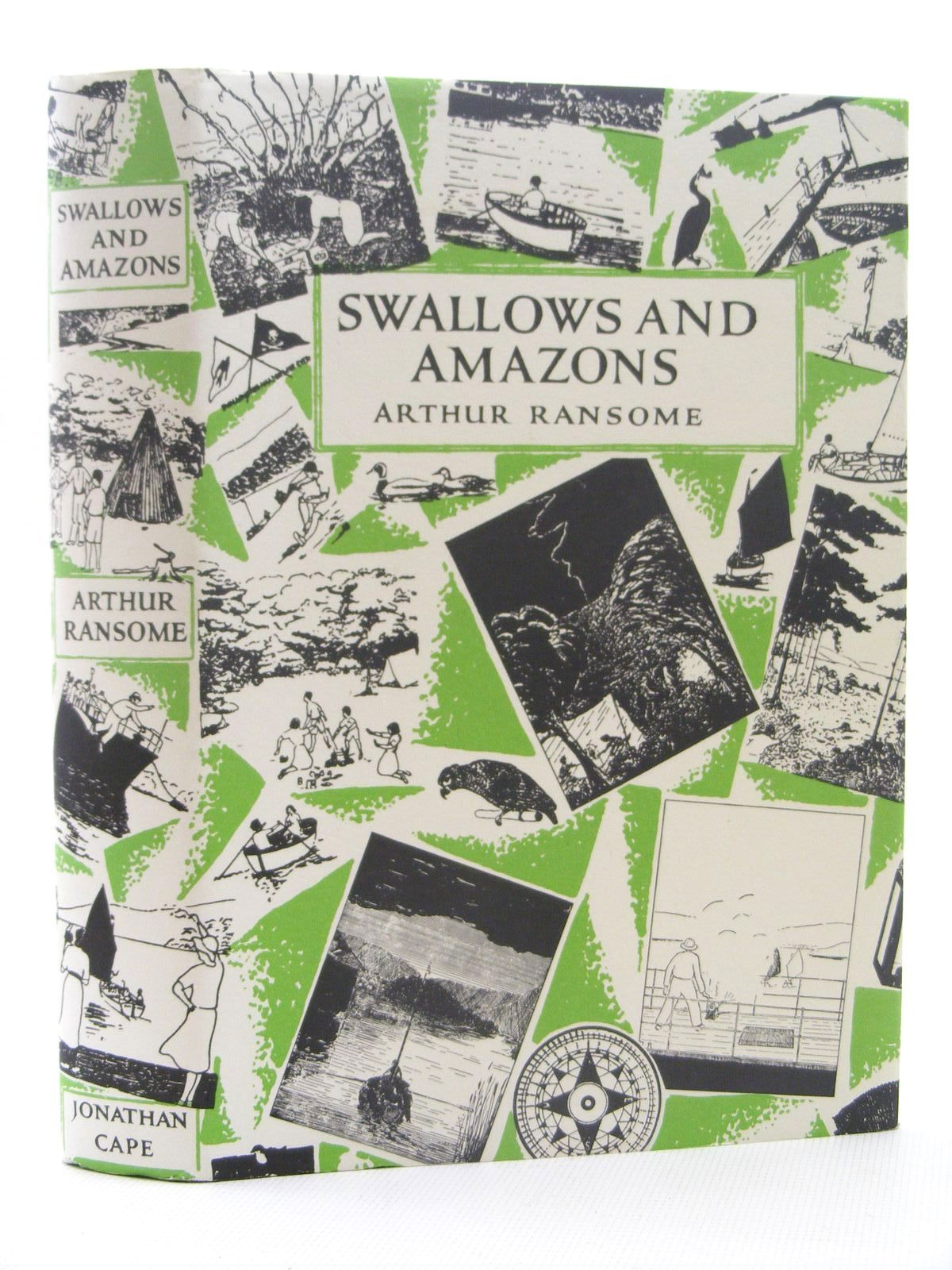 Photo of SWALLOWS AND AMAZONS written by Ransome, Arthur illustrated by Ransome, Arthur published by Jonathan Cape (STOCK CODE: 2124857)  for sale by Stella & Rose's Books