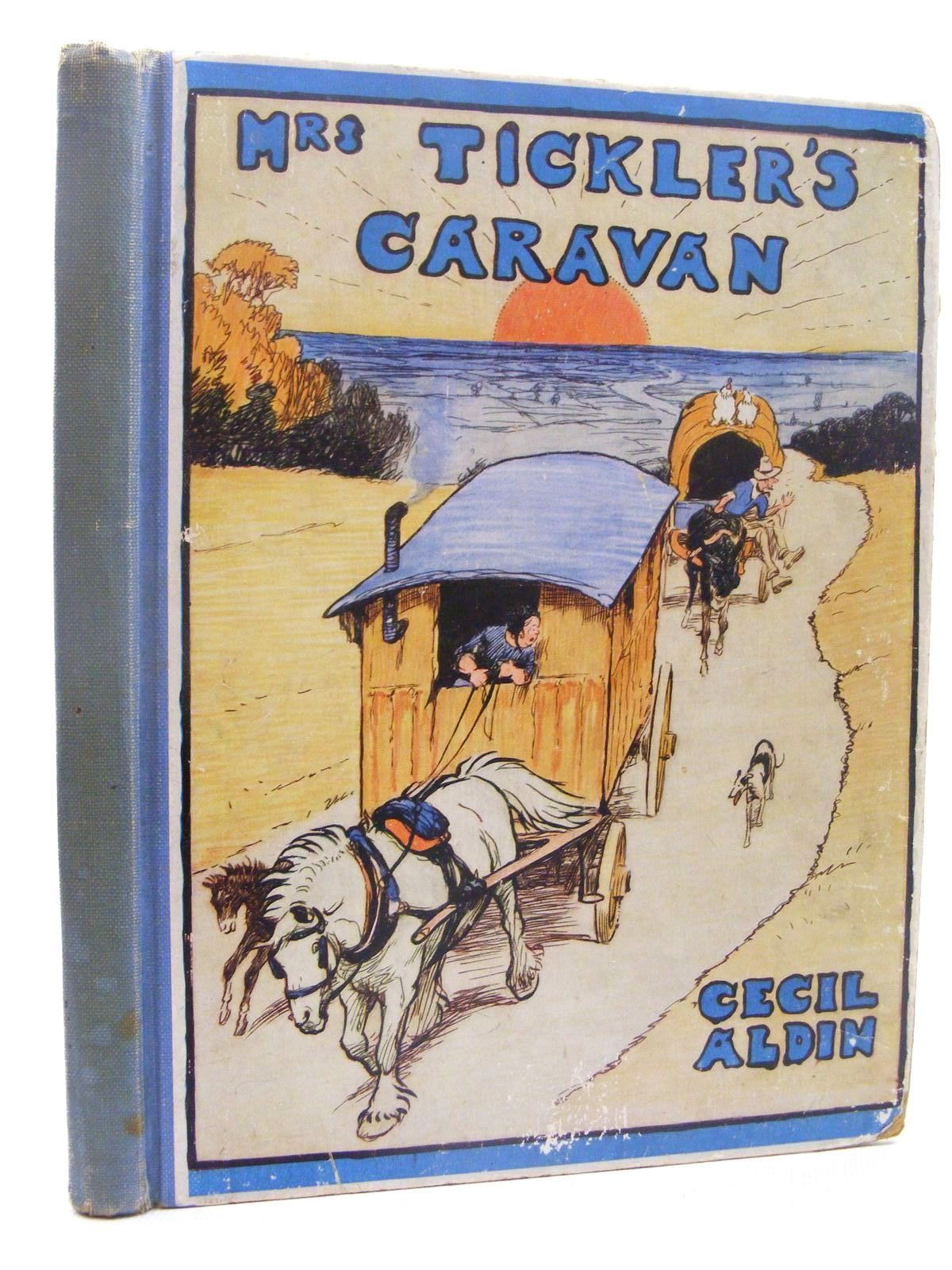 Photo of MRS. TICKLER'S CARAVAN A STORY FOR CHILDREN written by Aldin, Cecil illustrated by Aldin, Cecil published by Eyre & Spottiswoode (STOCK CODE: 2124912)  for sale by Stella & Rose's Books