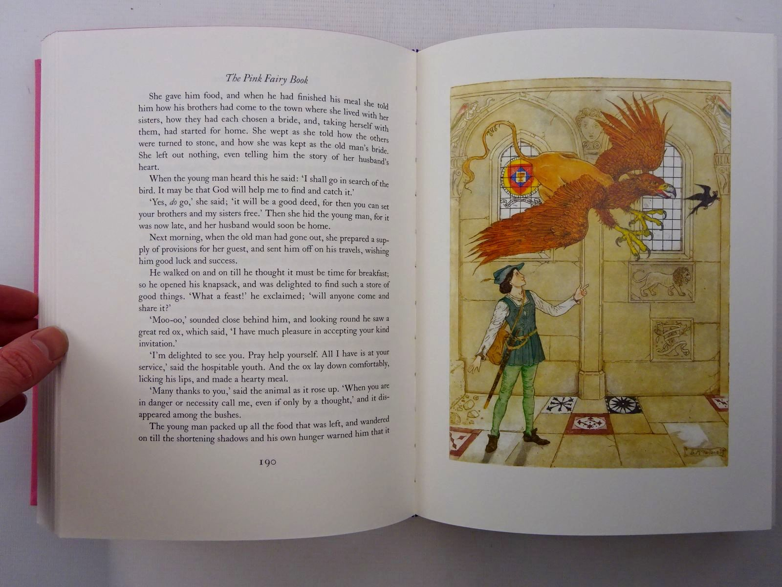 Photo of THE PINK FAIRY BOOK written by Lang, Andrew illustrated by Mcfarlane, Debra published by Folio Society (STOCK CODE: 2124952)  for sale by Stella & Rose's Books