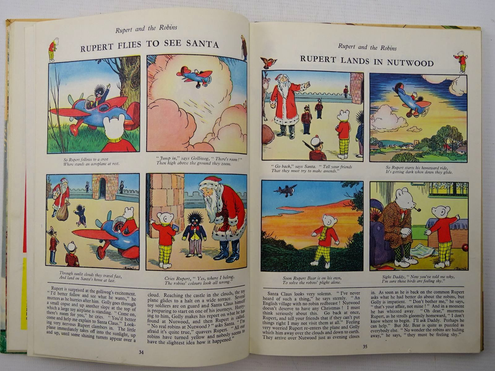 Photo of RUPERT ANNUAL 1962 written by Bestall, Alfred illustrated by Bestall, Alfred published by Daily Express (STOCK CODE: 2124961)  for sale by Stella & Rose's Books