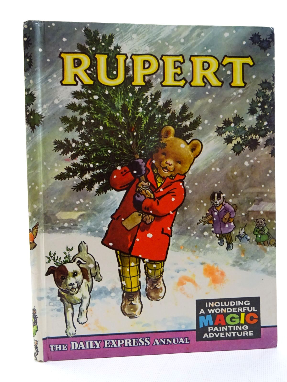 Photo of RUPERT ANNUAL 1965 written by Bestall, Alfred illustrated by Bestall, Alfred published by Daily Express (STOCK CODE: 2124965)  for sale by Stella & Rose's Books