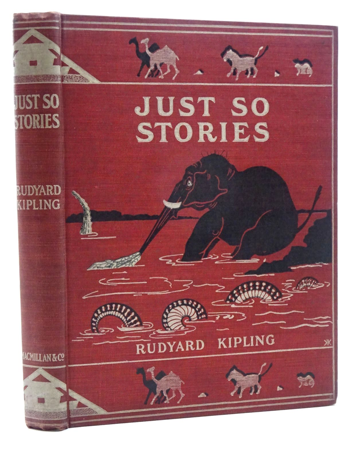 Photo of JUST SO STORIES written by Kipling, Rudyard illustrated by Kipling, Rudyard published by Macmillan & Co. Ltd. (STOCK CODE: 2124966)  for sale by Stella & Rose's Books