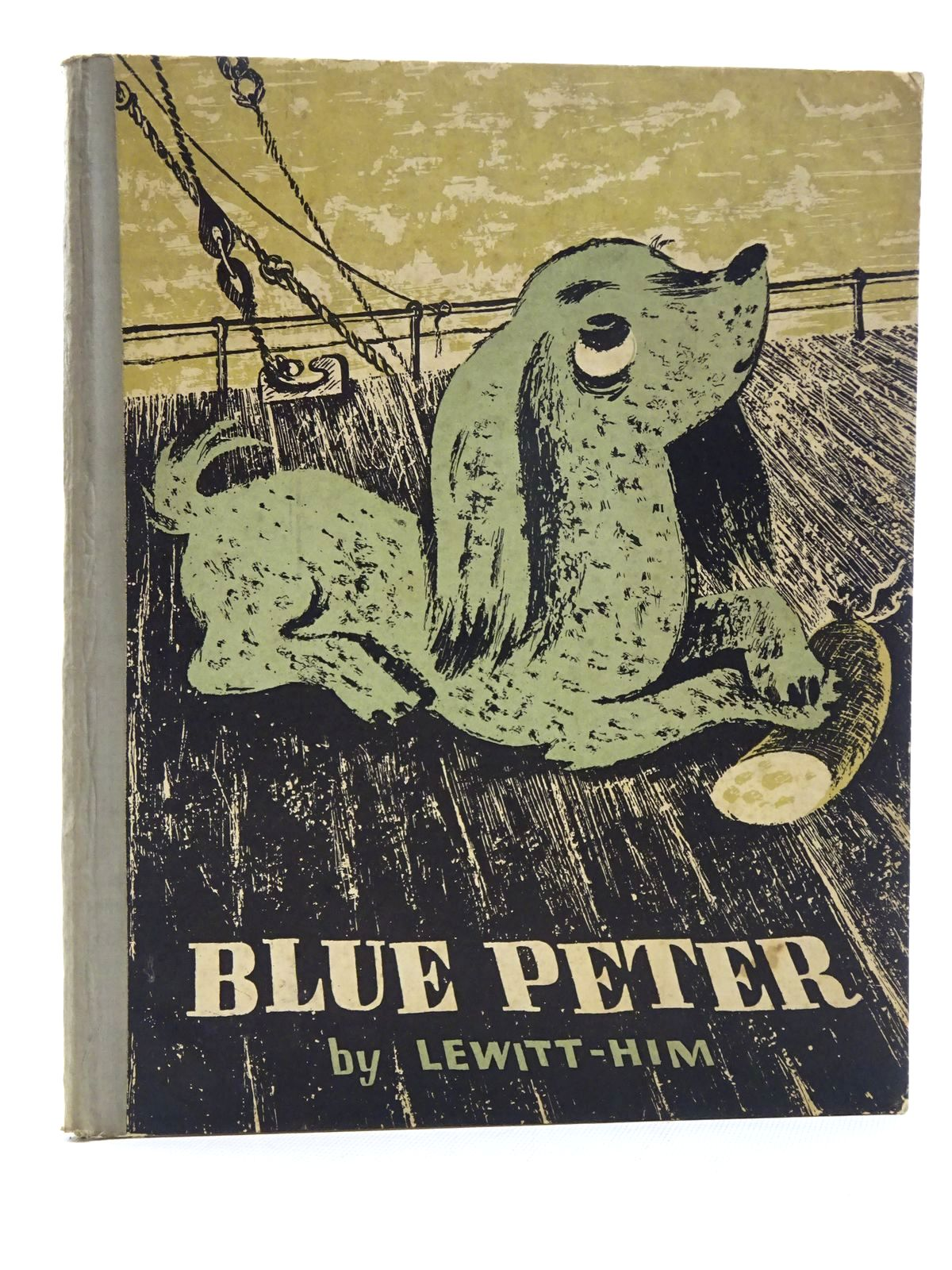 Photo of BLUE PETER written by Lewitt, Alina illustrated by Lewitt-Him,  published by Faber & Faber (STOCK CODE: 2124968)  for sale by Stella & Rose's Books