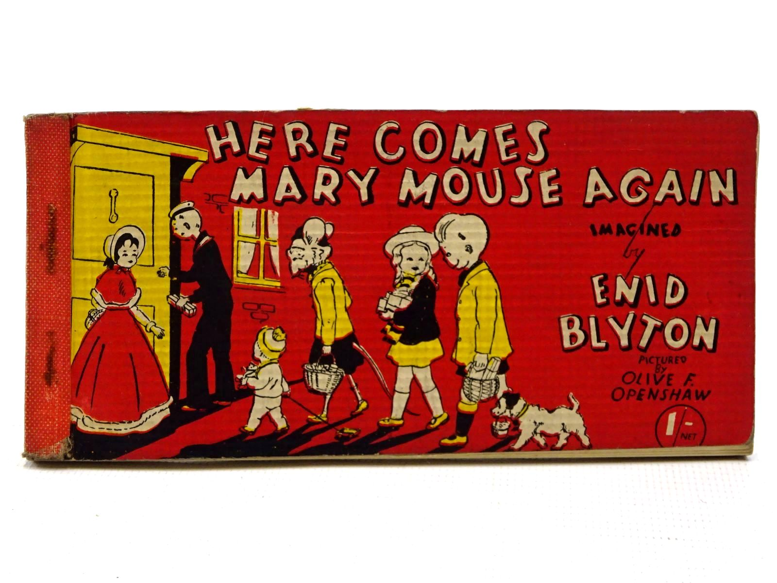 Photo of HERE COMES MARY MOUSE AGAIN written by Blyton, Enid illustrated by Openshaw, Olive F. published by Brockhampton Press Ltd. (STOCK CODE: 2124979)  for sale by Stella & Rose's Books