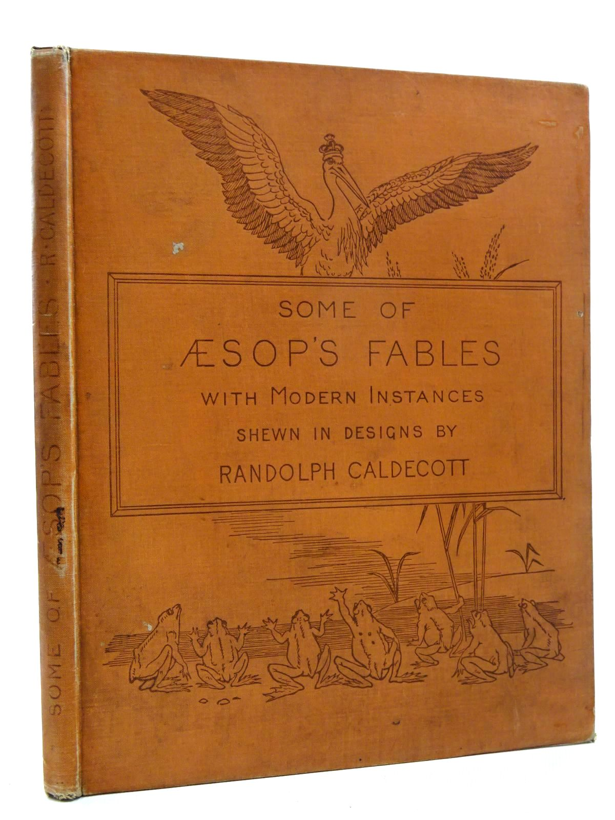 Photo of SOME OF AESOP'S FABLES written by Aesop, <br />Caldecott, Alfred illustrated by Caldecott, Randolph published by Macmillan & Co. (STOCK CODE: 2124995)  for sale by Stella & Rose's Books