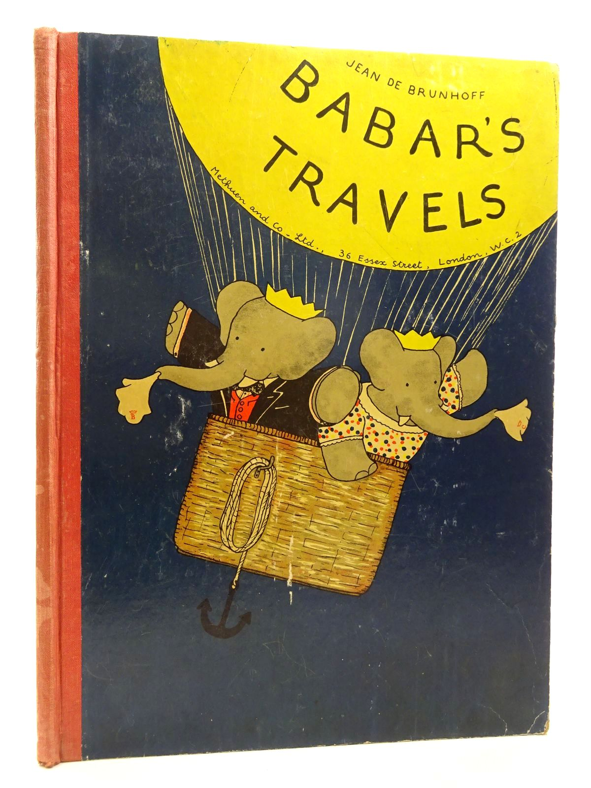 Photo of BABAR'S TRAVELS written by De Brunhoff, Jean illustrated by De Brunhoff, Jean published by Methuen & Co. Ltd. (STOCK CODE: 2125000)  for sale by Stella & Rose's Books