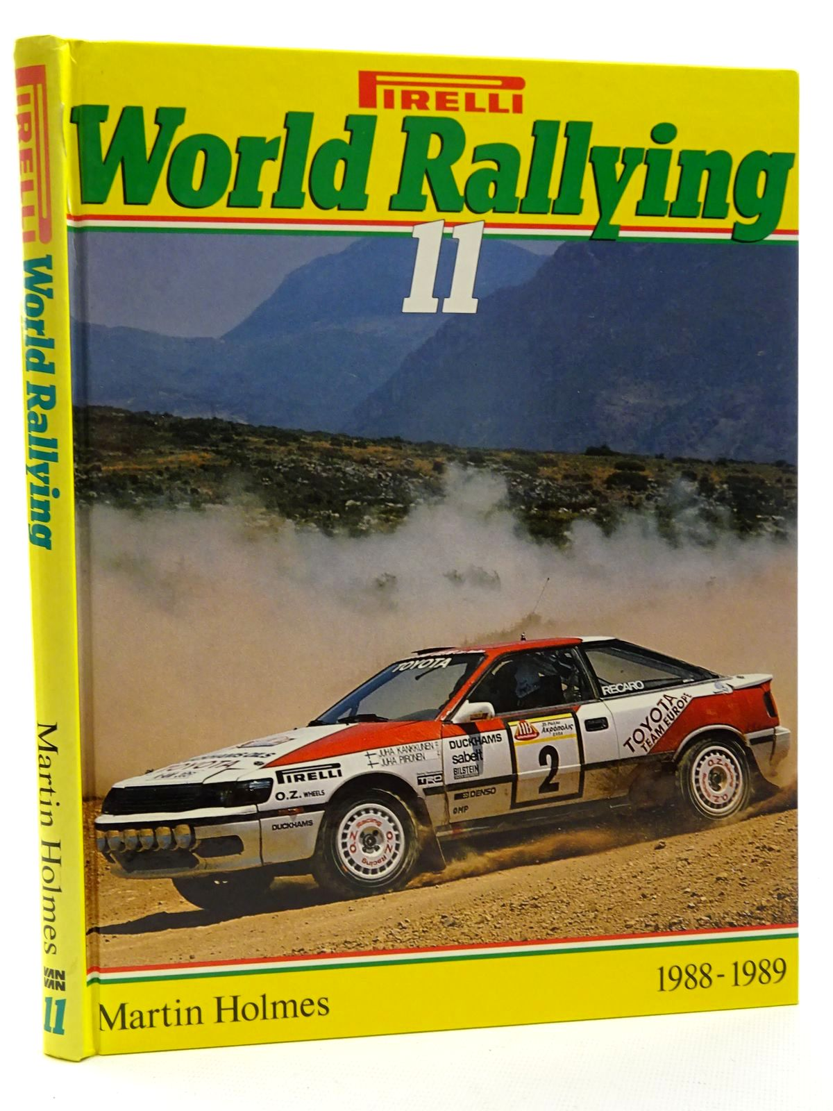 Photo of PIRELLI WORLD RALLYING 11 written by Holmes, Martin published by Van + Van (STOCK CODE: 2125004)  for sale by Stella & Rose's Books
