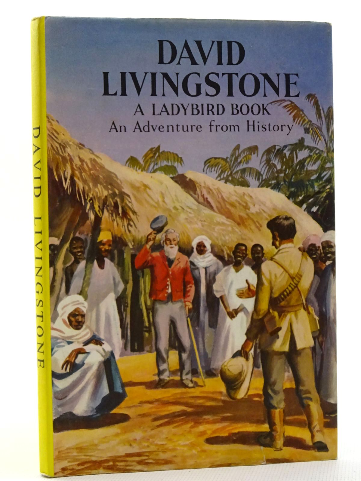 Photo of DAVID LIVINGSTONE written by Peach, L. Du Garde illustrated by Kenney, John published by Wills & Hepworth Ltd. (STOCK CODE: 2125041)  for sale by Stella & Rose's Books