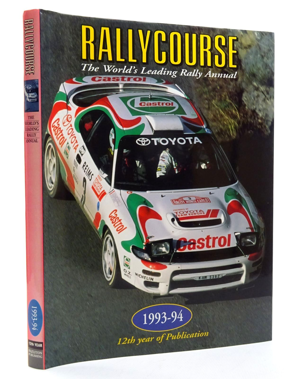 Photo of RALLYCOURSE 1993-94 written by Williams, David published by Hazleton Publishing (STOCK CODE: 2125057)  for sale by Stella & Rose's Books