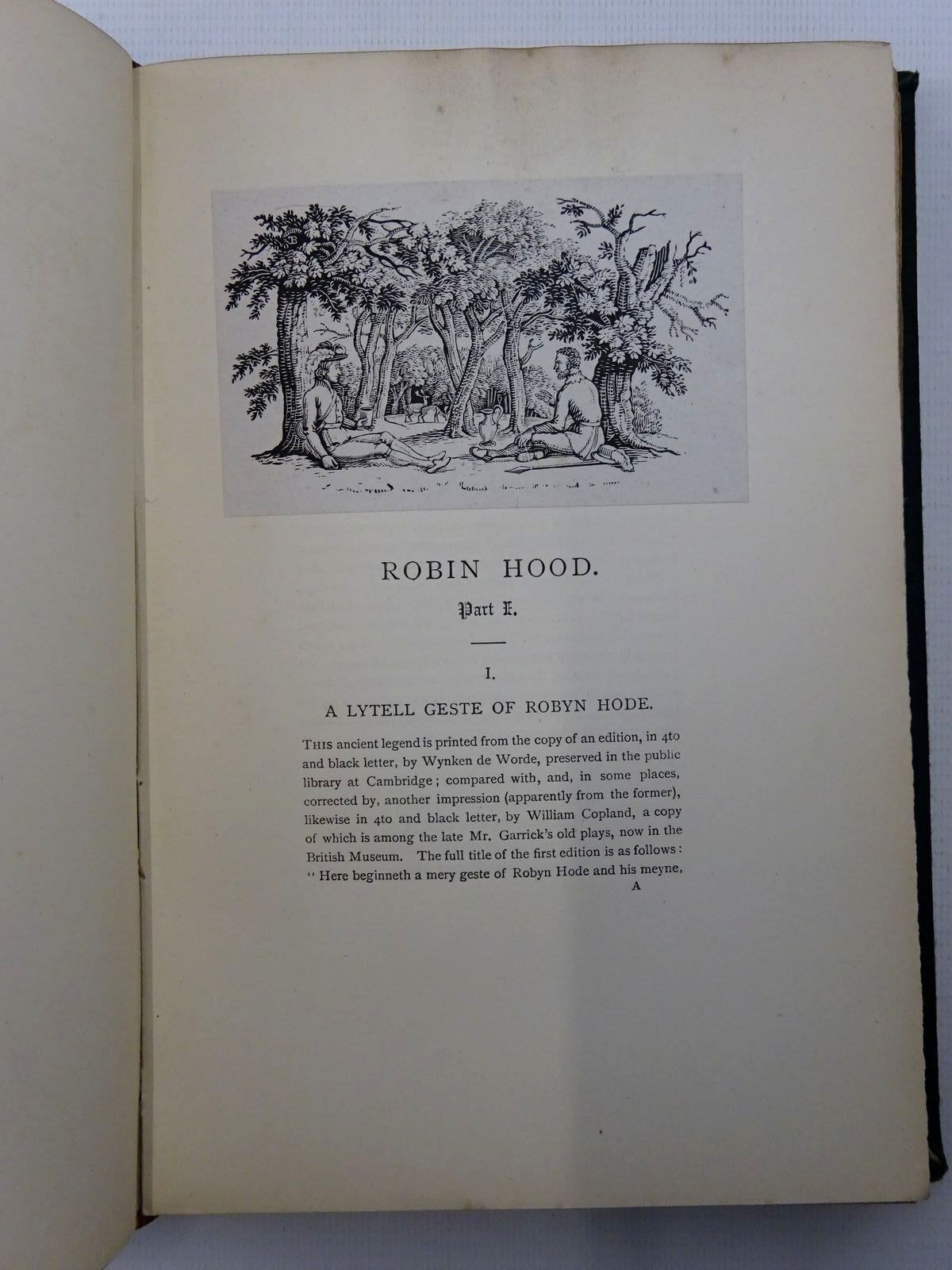 Photo of ROBIN HOOD (2 VOLUMES) written by Ritson, Joseph illustrated by Bewick,<br />Tourrier, A.H.<br />Buckman, E. published by John C. Nimmo (STOCK CODE: 2125061)  for sale by Stella & Rose's Books