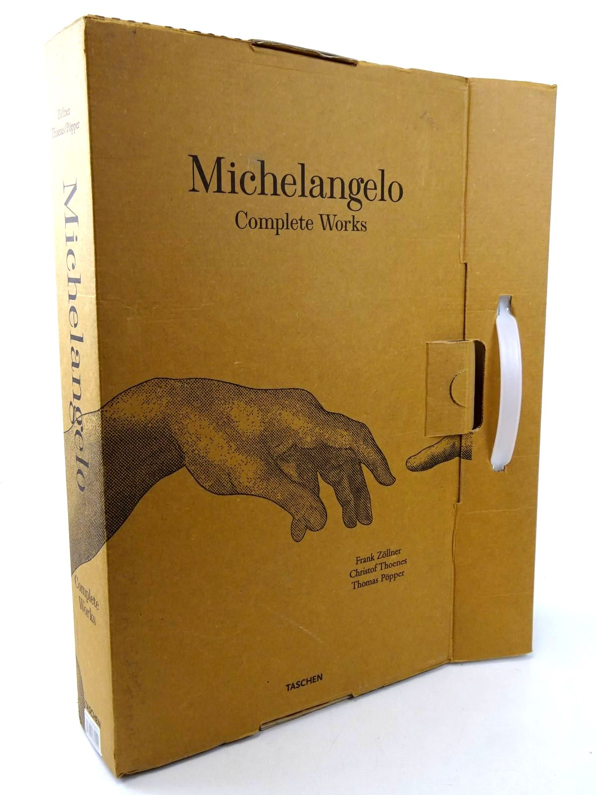 Photo of MICHELANGELO 1475 - 1564 COMPLETE WORKS written by Zollner, Frank<br />Thoenes, Christof<br />Popper, Thomas published by Taschen (STOCK CODE: 2125062)  for sale by Stella & Rose's Books