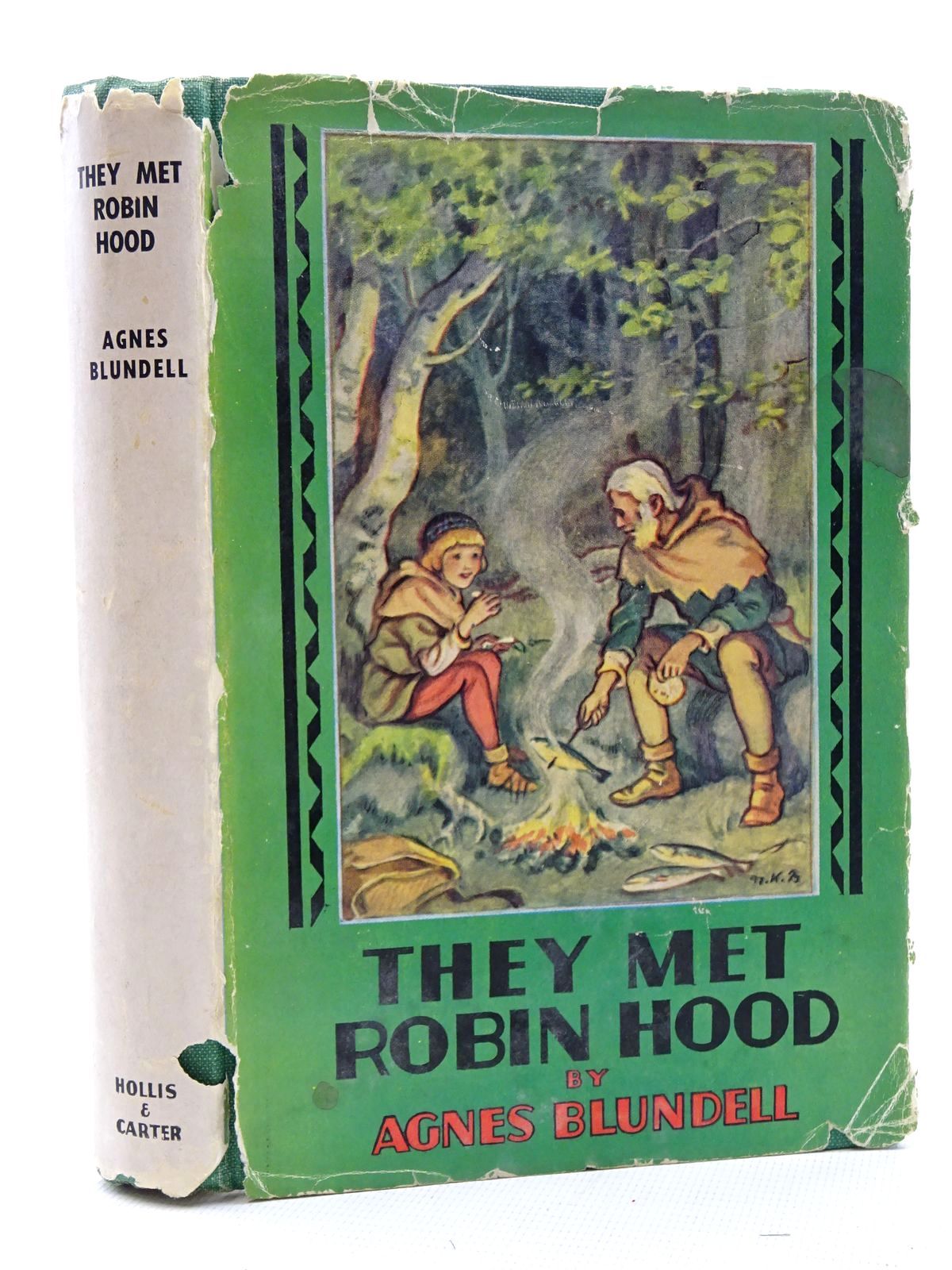 Photo of THEY MET ROBIN HOOD written by Blundell, Agnes illustrated by Rogers, Frank published by Hollis & Carter (STOCK CODE: 2125080)  for sale by Stella & Rose's Books
