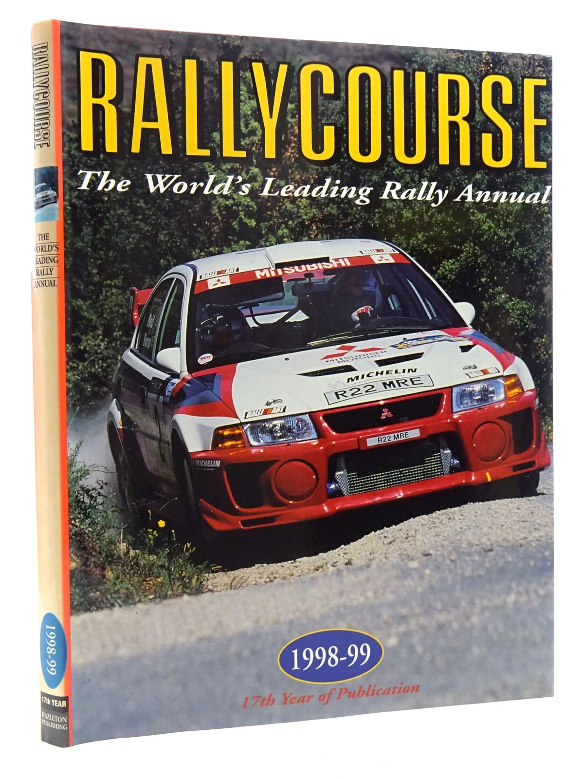 Photo of RALLYCOURSE 1998-99 written by Williams, David published by Hazleton Publishing (STOCK CODE: 2125088)  for sale by Stella & Rose's Books