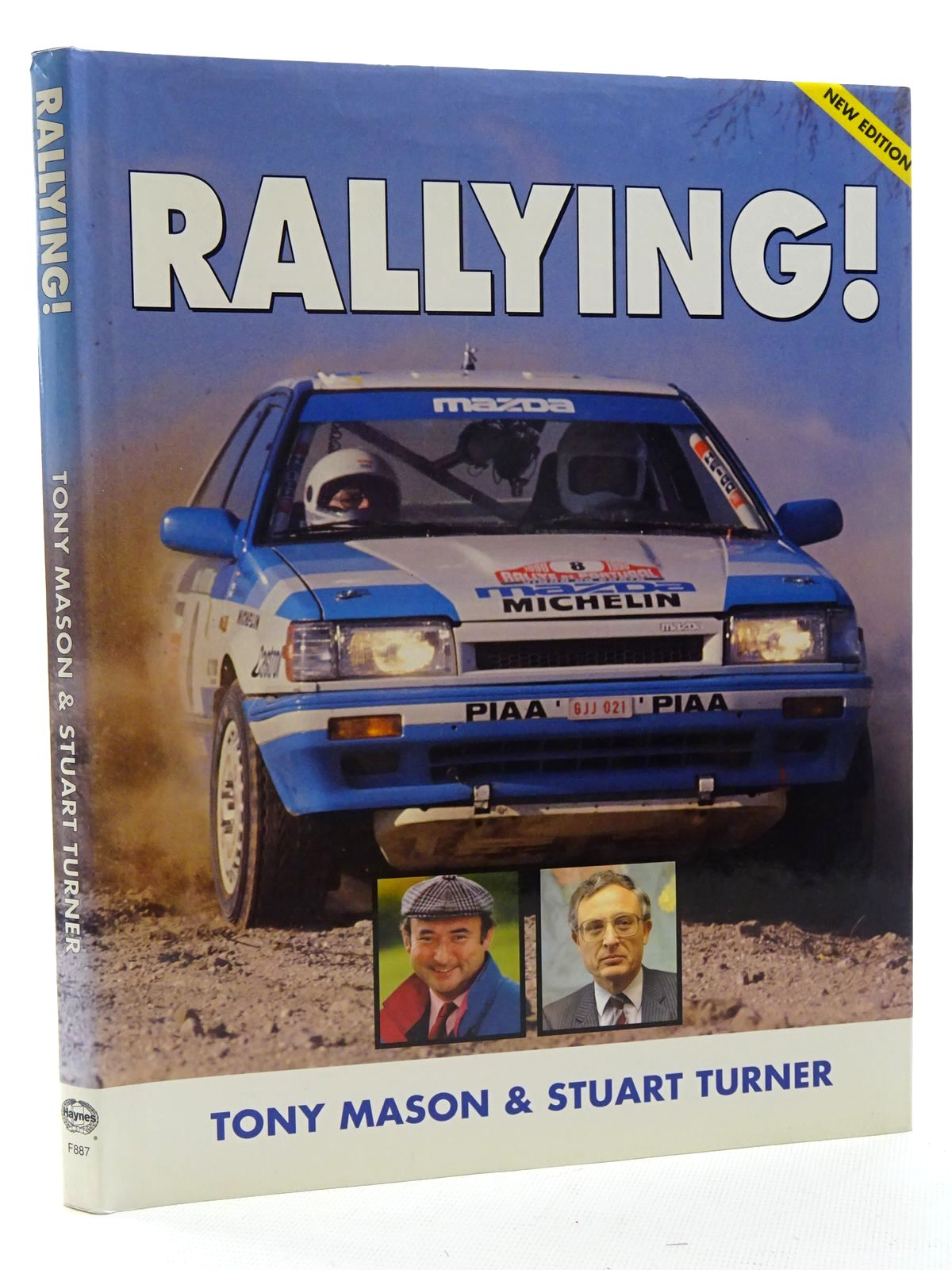 Photo of RALLYING! written by Mason, Tony<br />Turner, Stuart published by Foulis, Haynes (STOCK CODE: 2125098)  for sale by Stella & Rose's Books