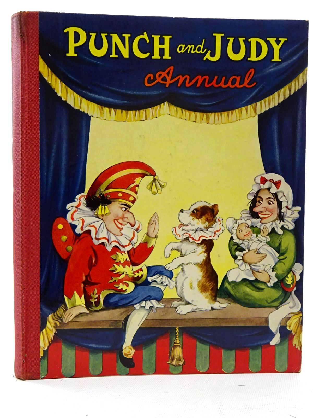 Photo of PUNCH AND JUDY ANNUAL illustrated by Cloke, Rene published by Juvenile Productions Ltd. (STOCK CODE: 2125111)  for sale by Stella & Rose's Books