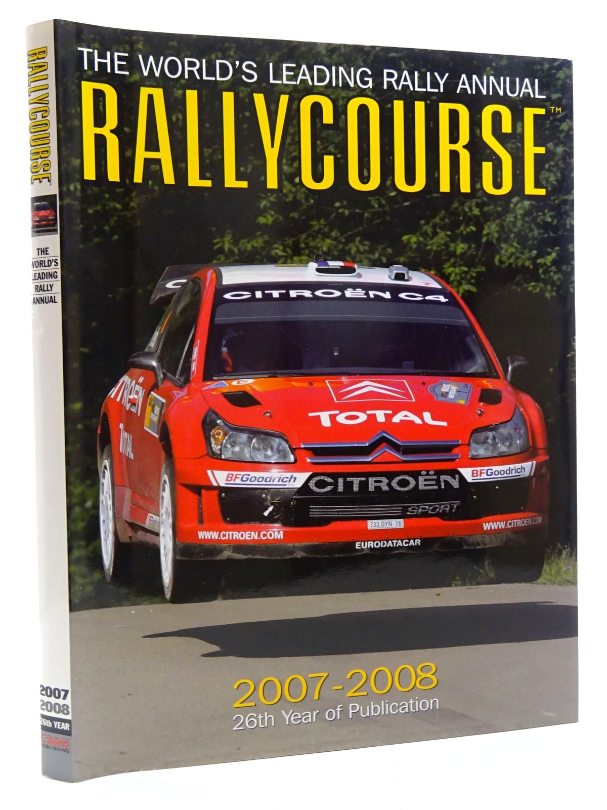 Photo of RALLYCOURSE 2007-2008 written by Evans, David published by Crash Media Group (STOCK CODE: 2125149)  for sale by Stella & Rose's Books